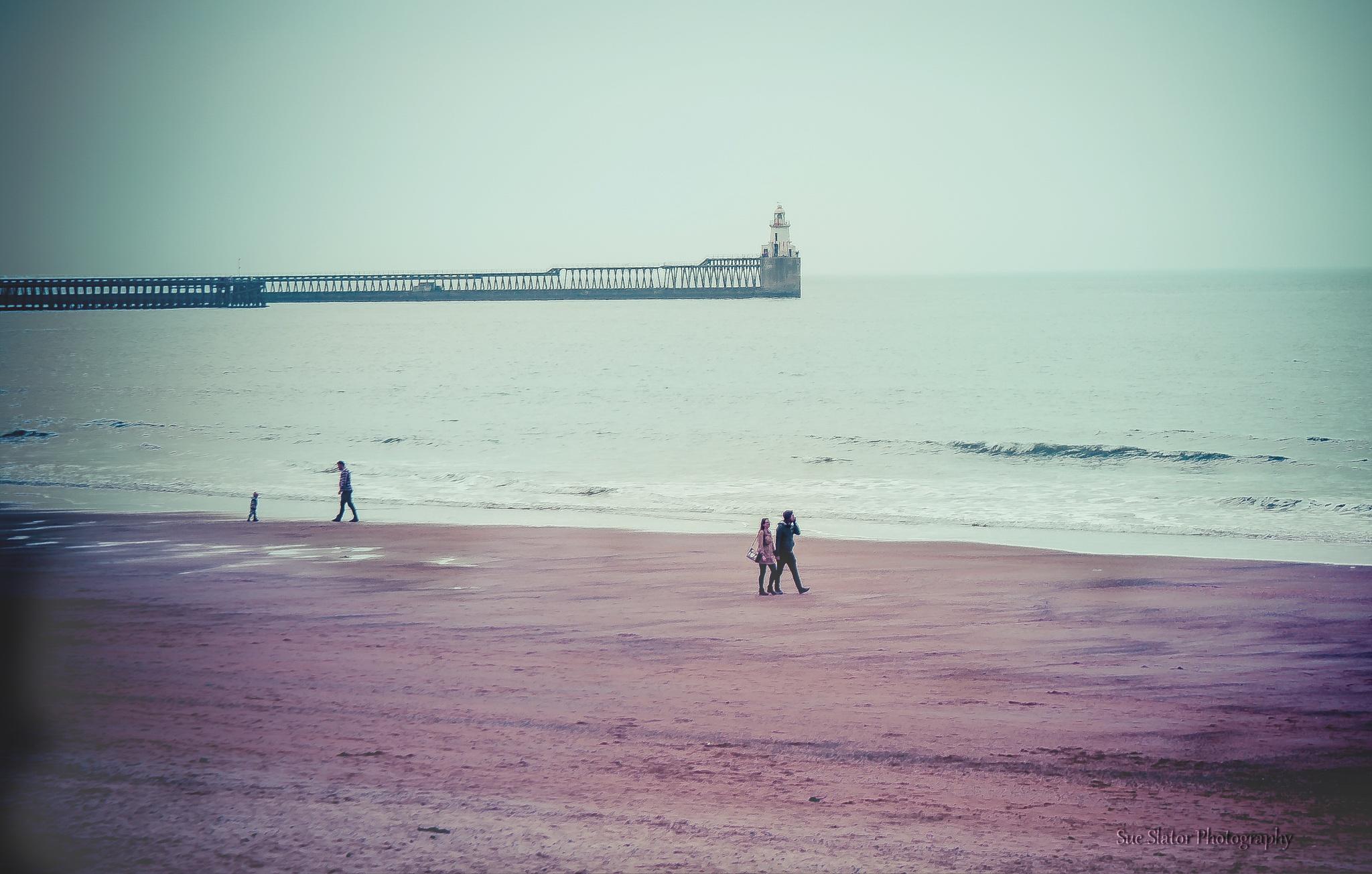 Blyth Beach by Creative Sense Photography