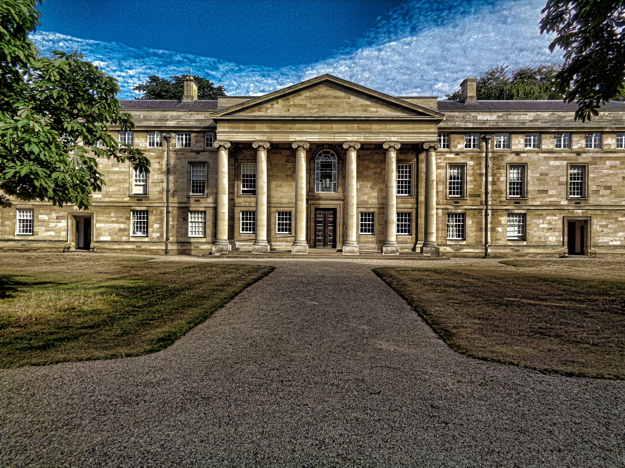 Downing College by Simon Hill