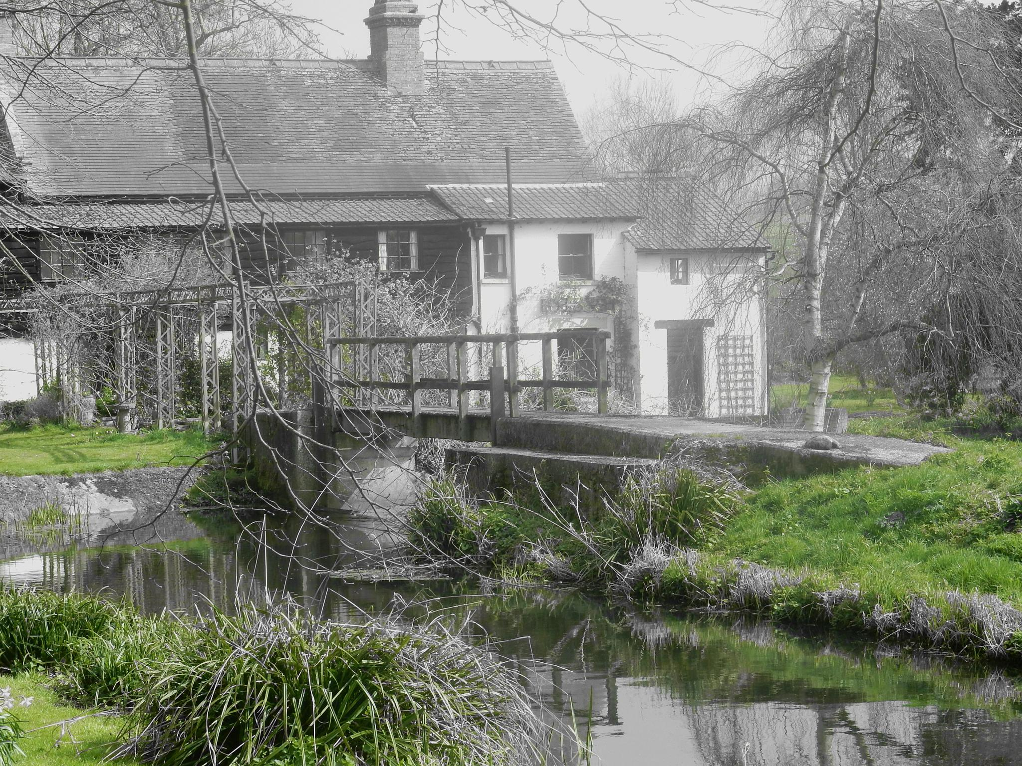The Water Mill by Simon Hill