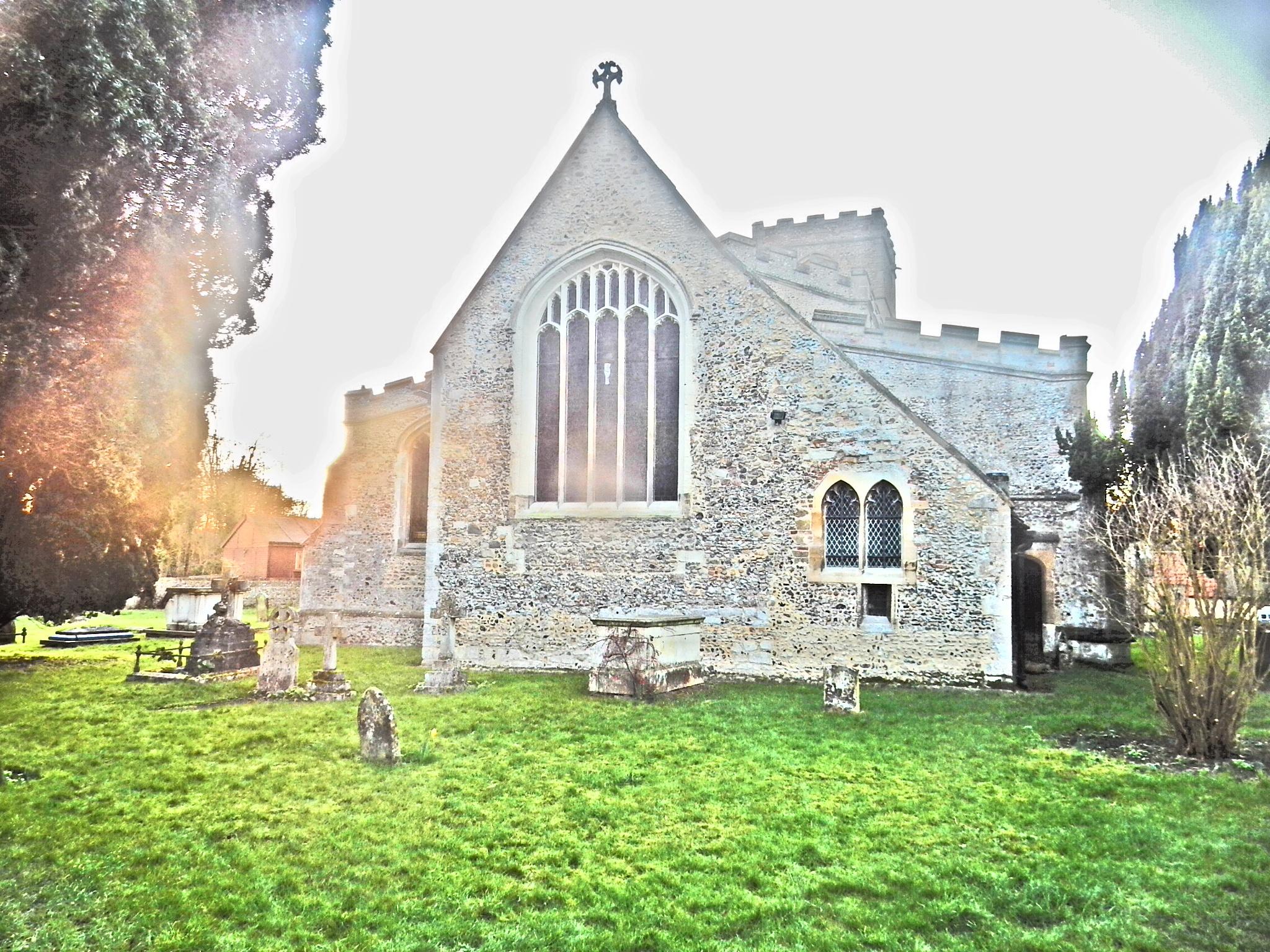 St Marys Church by Simon Hill
