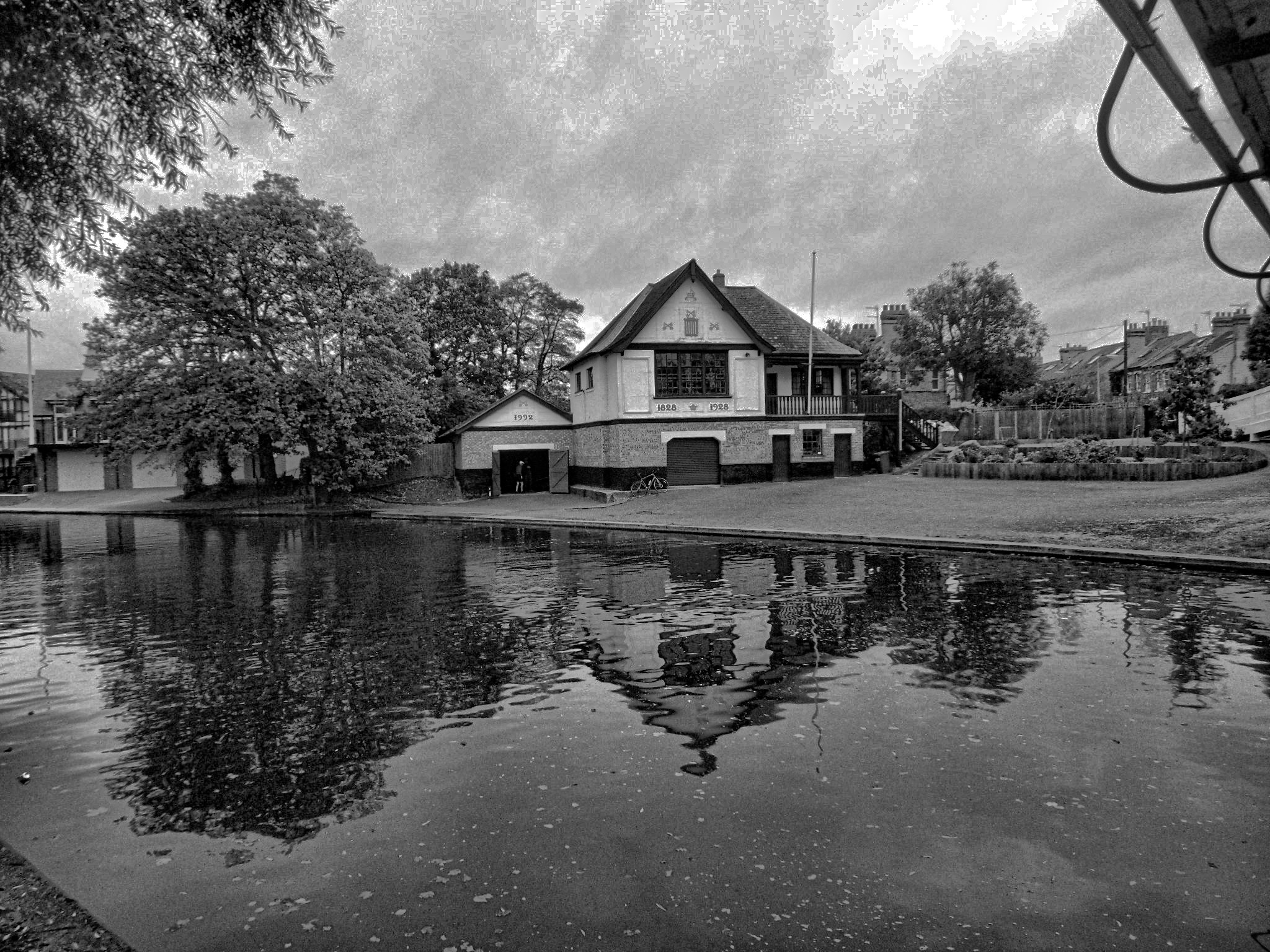 The Boathouse by Simon Hill