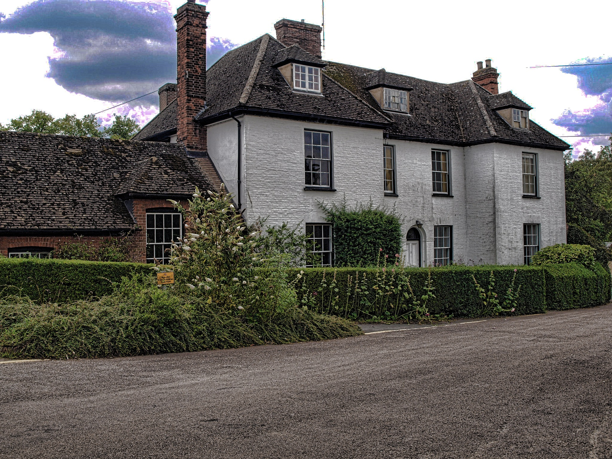 The Old Vicarage by Simon Hill