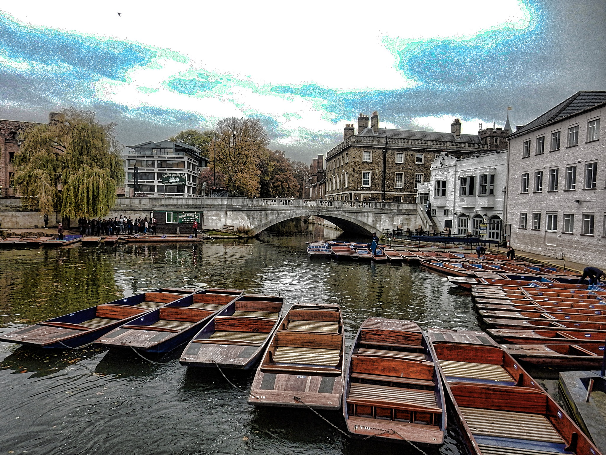 The Punts by Simon Hill