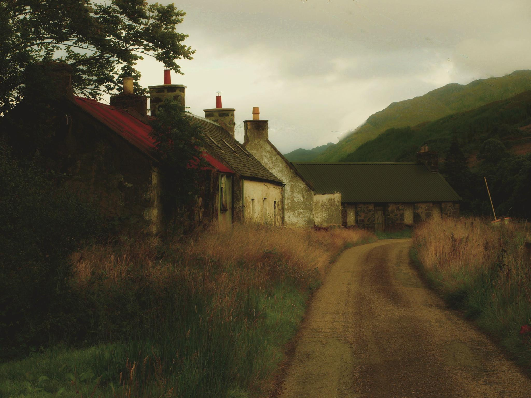 The Cottages by Jimac MacPhie