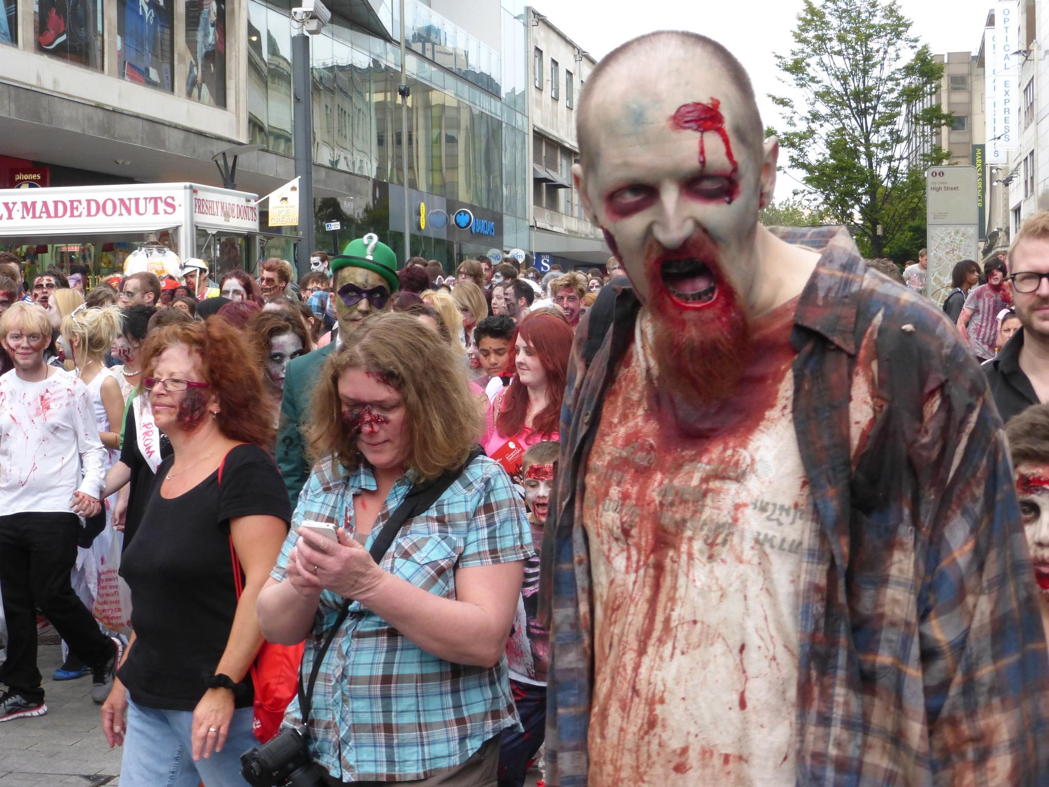 Zombies in Birmingham by john.coates.792