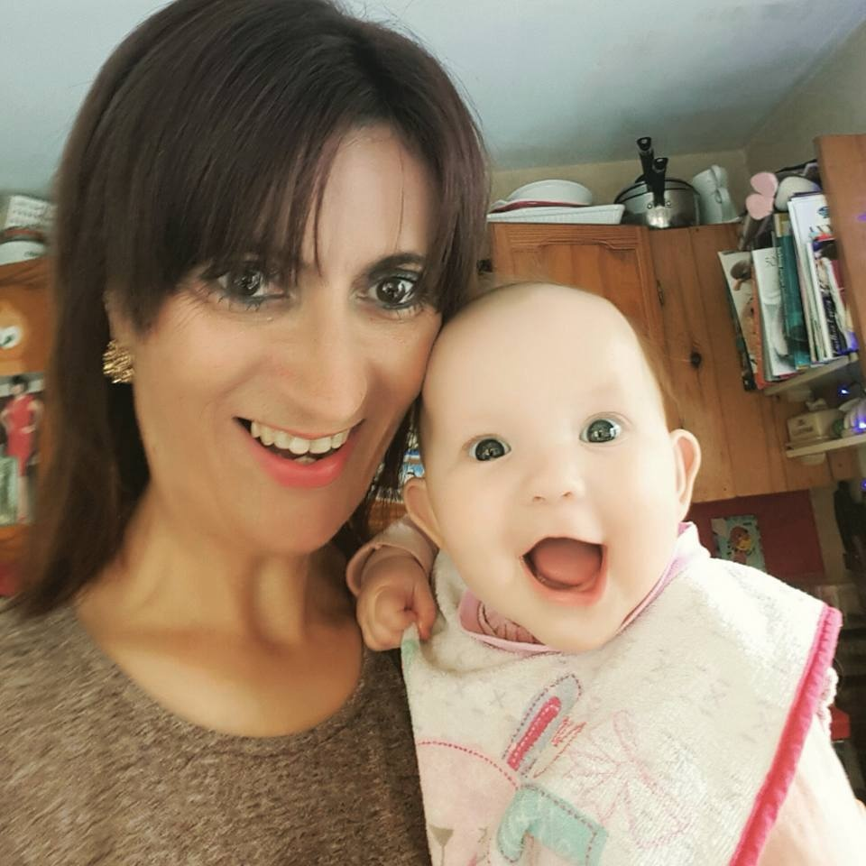 me and my gorgeous granddaughter Cassie by mandy.norris