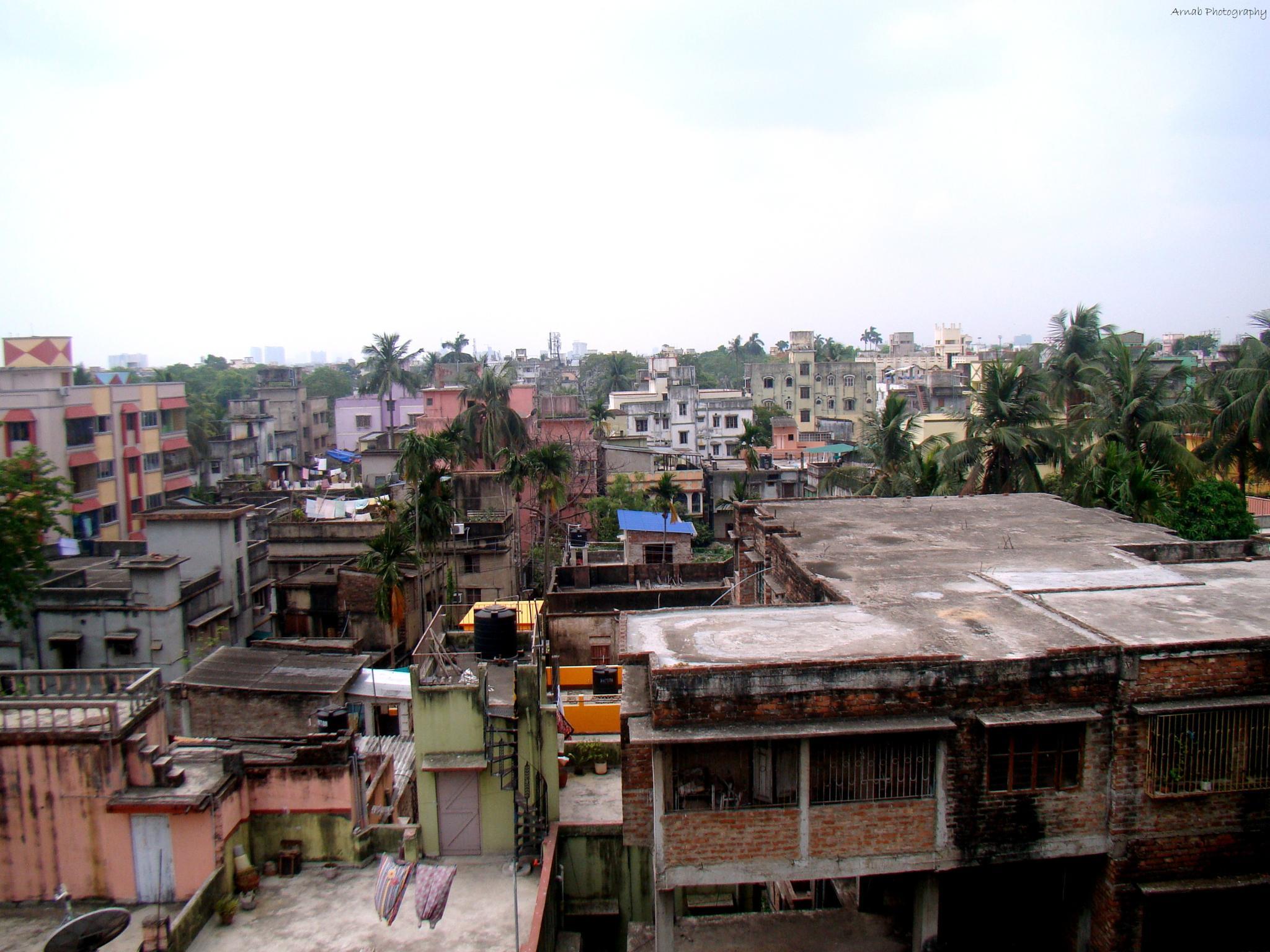 The nice view of Kolkata by Arnab Chatterjee