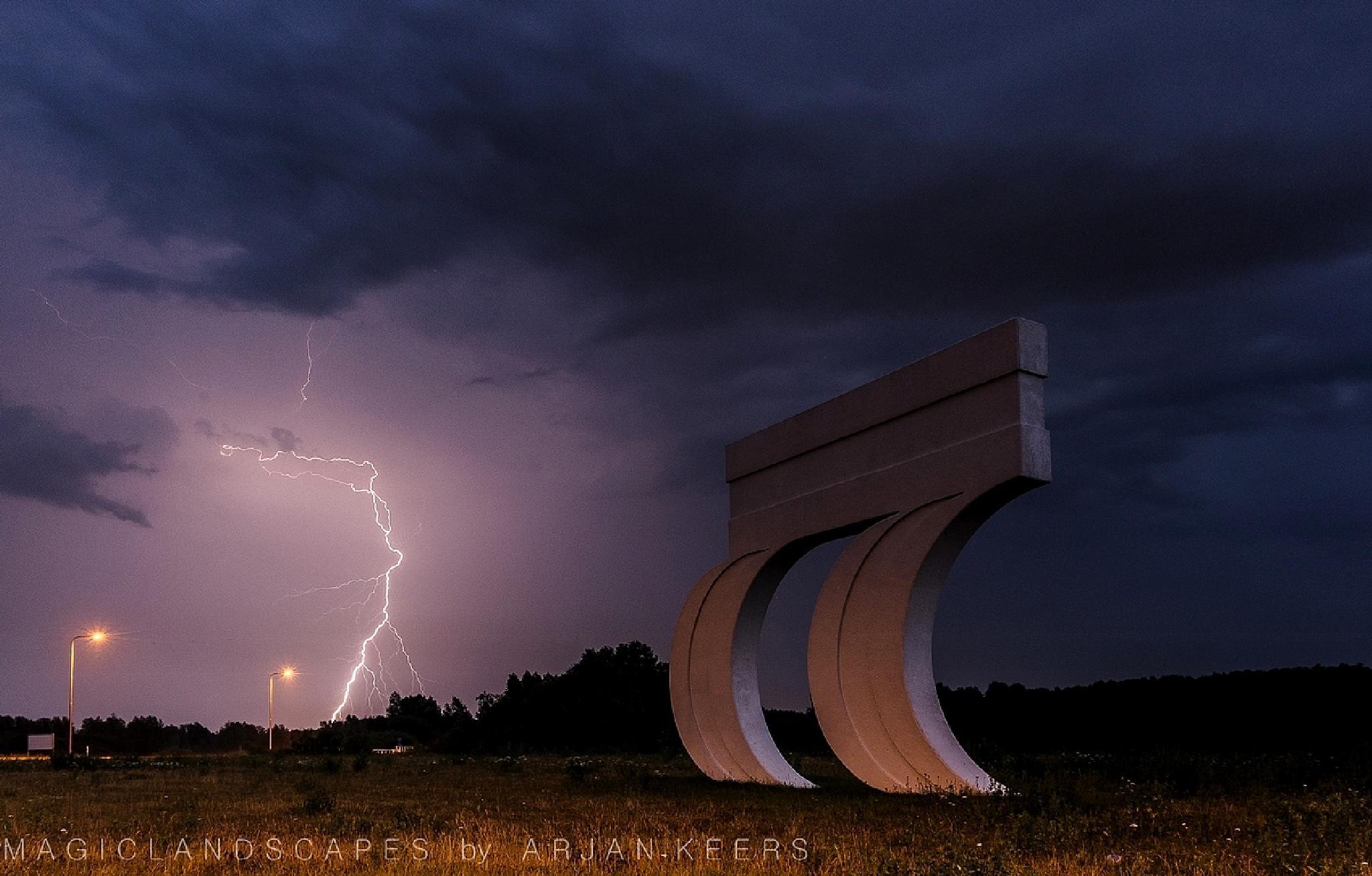 Electric summernight by arjan.keers