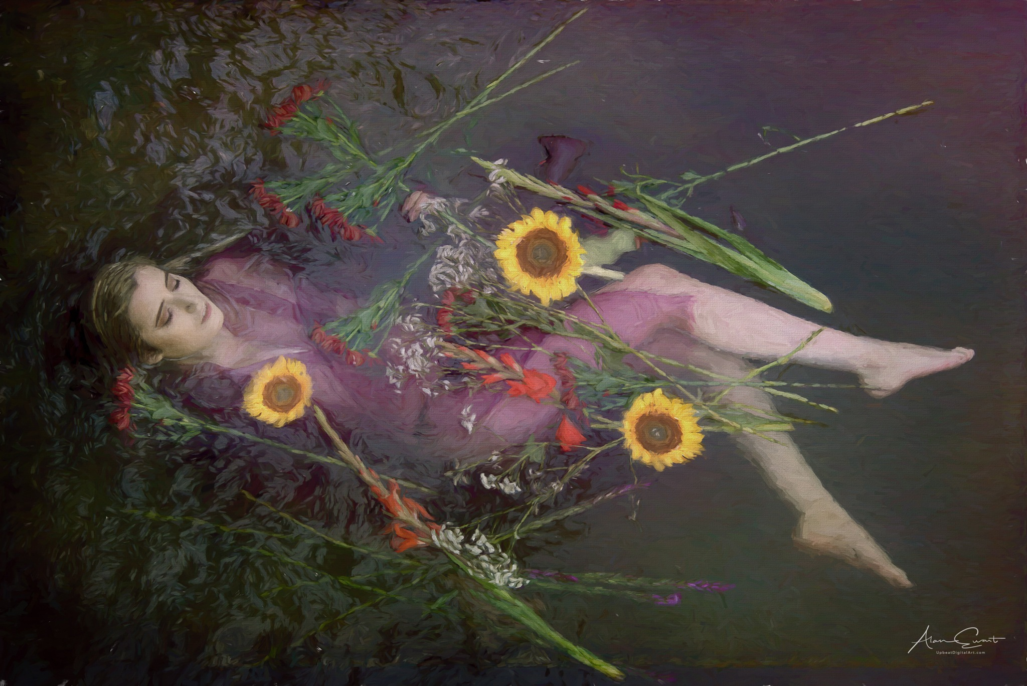 Ophilia version 2 by Alan Ewart