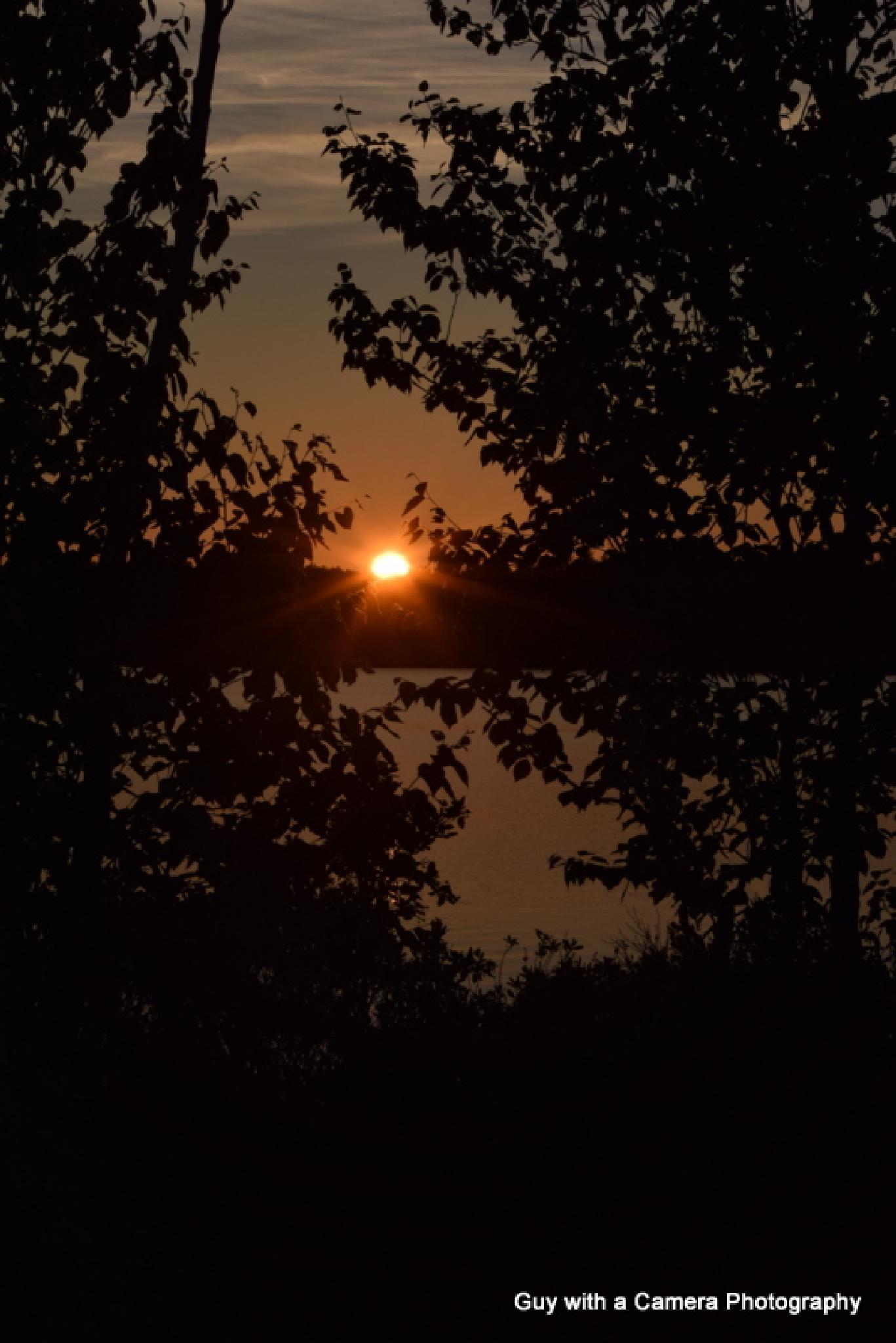FRAMING SUNSET  by elmo.hewlett