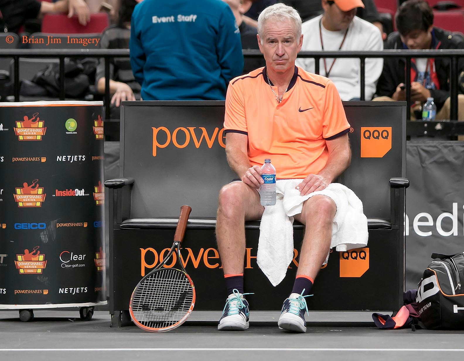 John McEnroe,  tennis player, in Power Series by shooter4U