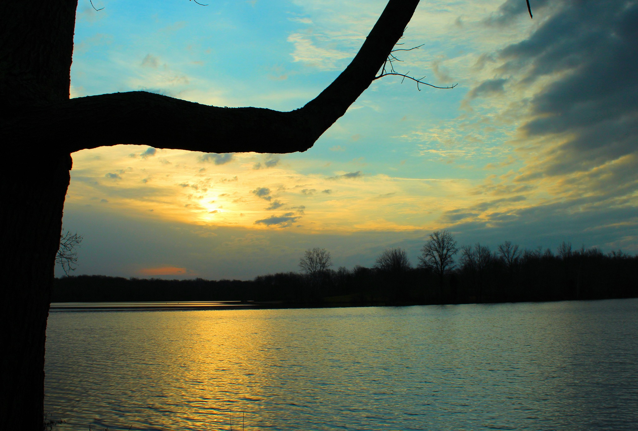 Early Morning over the Lake by sherry.laydaugherty