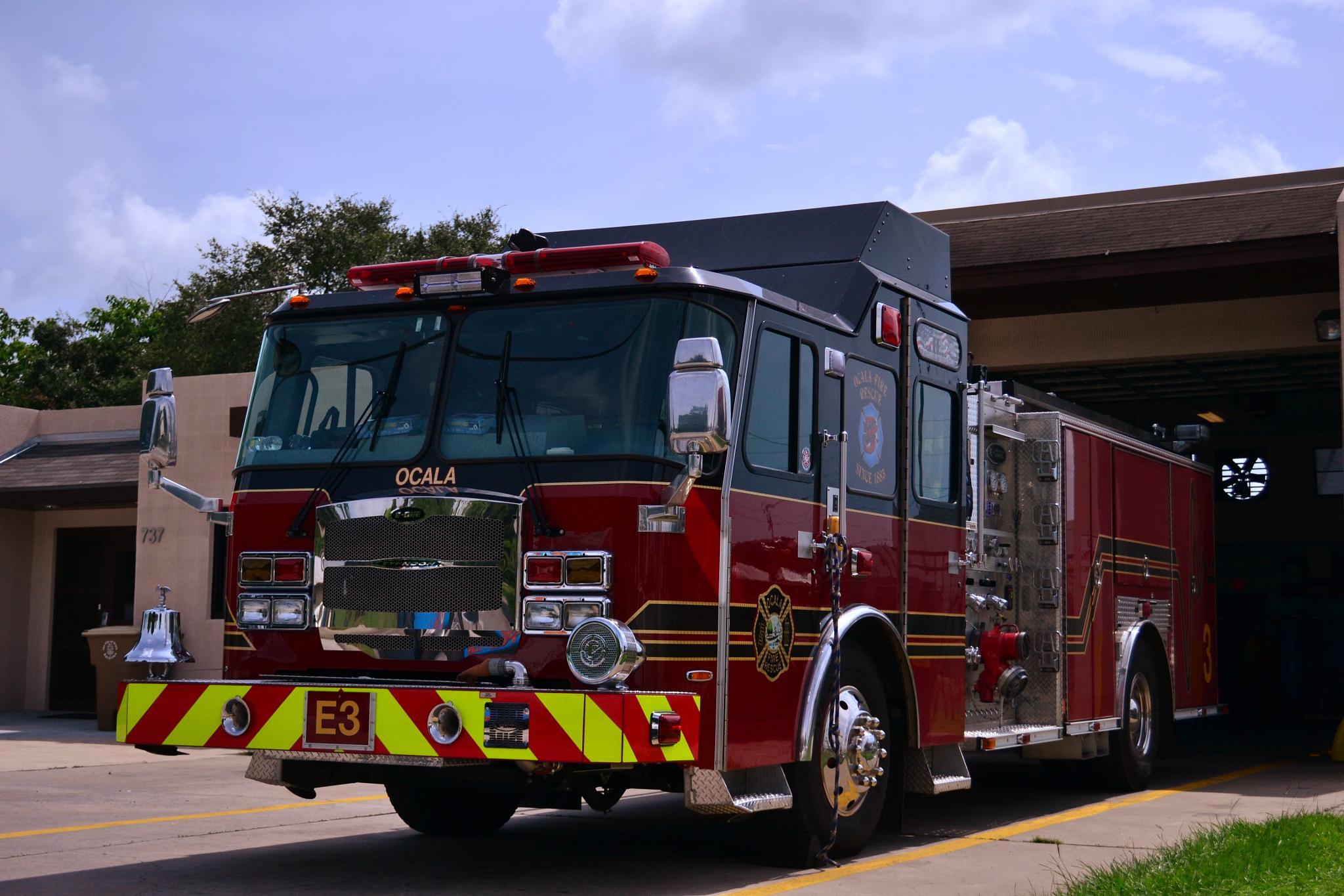 Fire Truck Ocala,Fla by docsmity