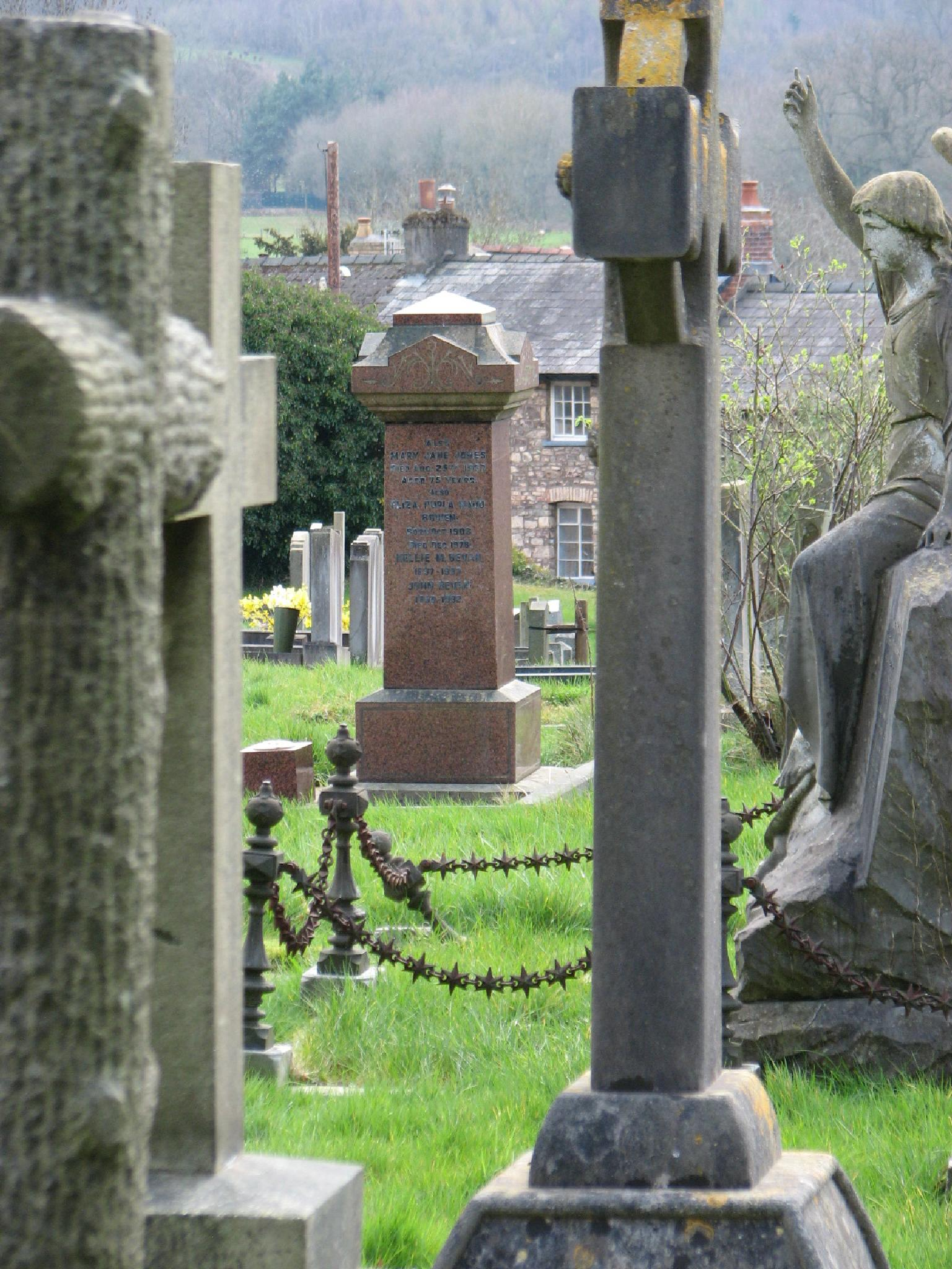 church graveyard by nigel.seldon.1