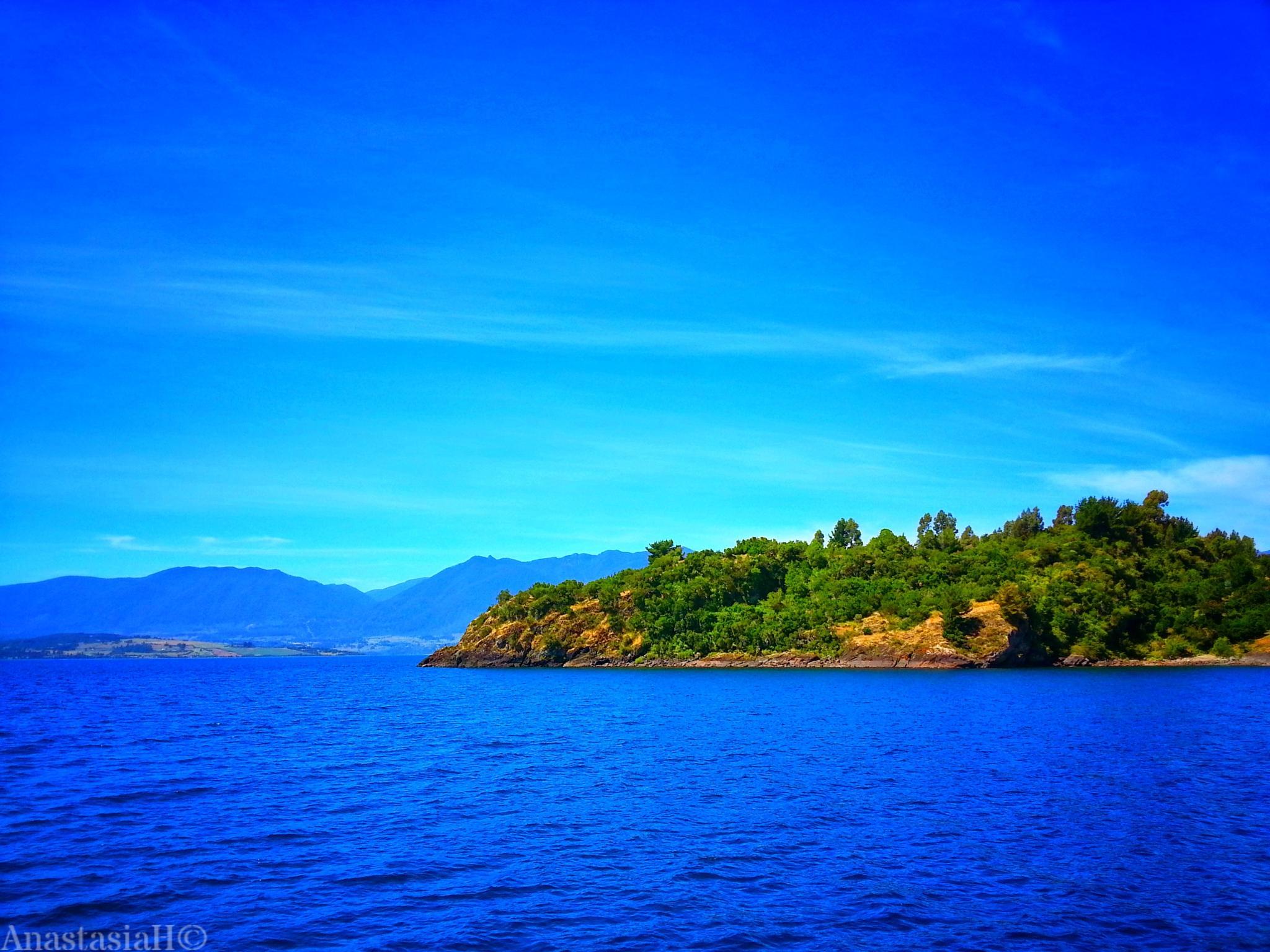 Stone Island by Anastasia H. Meza