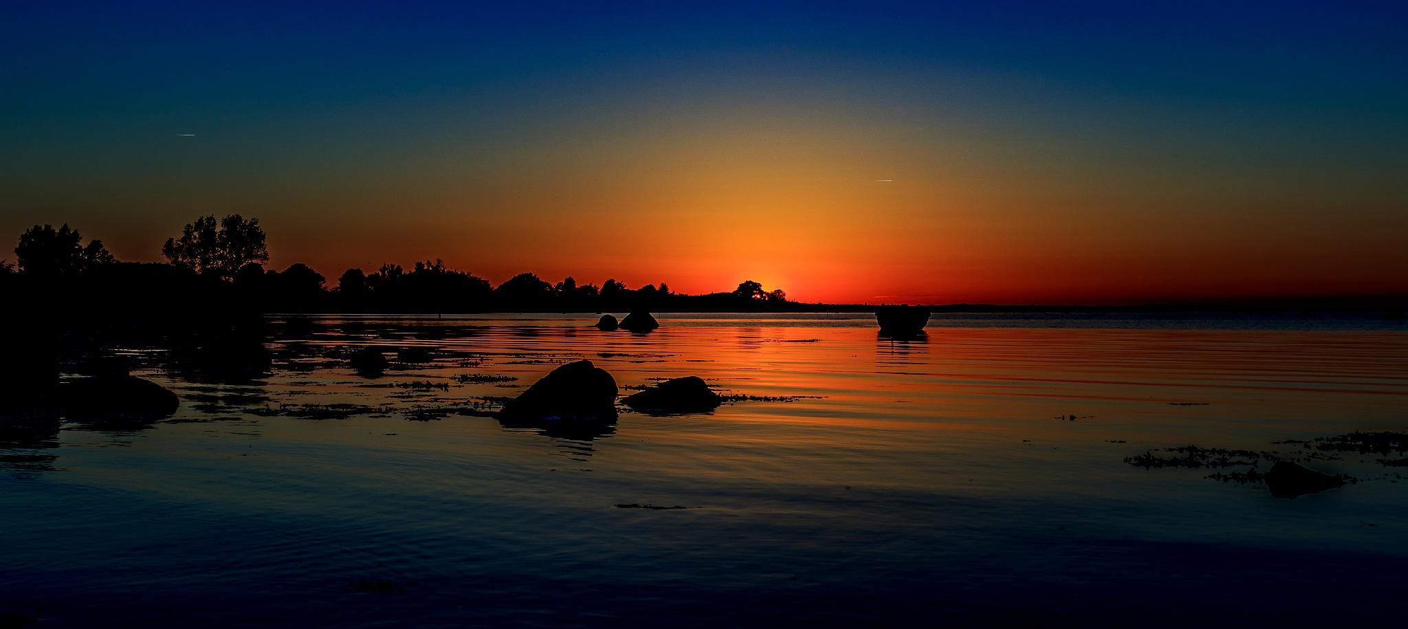 Sundown In Ängelholm by Daniel Paulsson