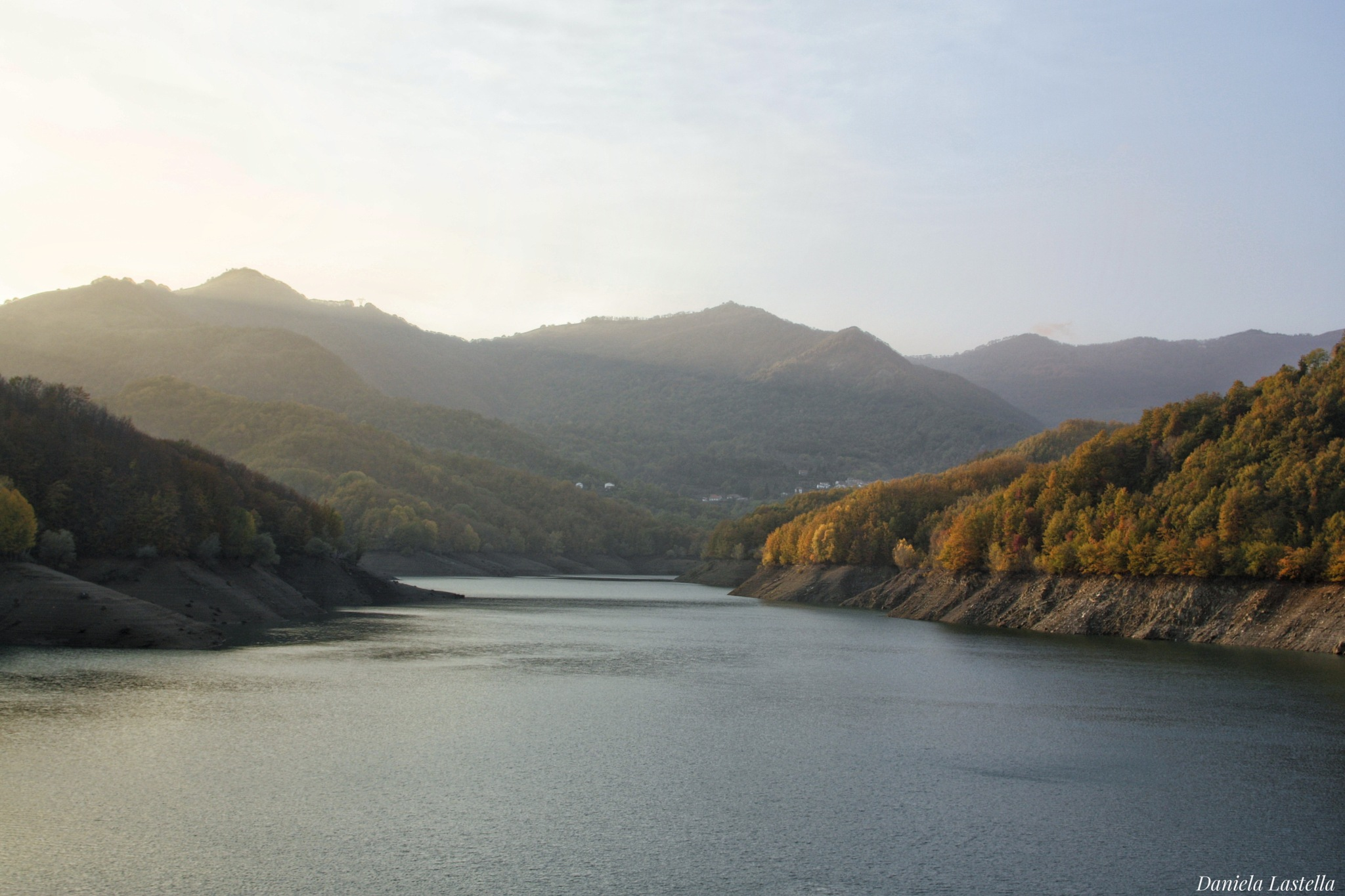 """"""" Il lago del Brugneto """" by danina65ge"""