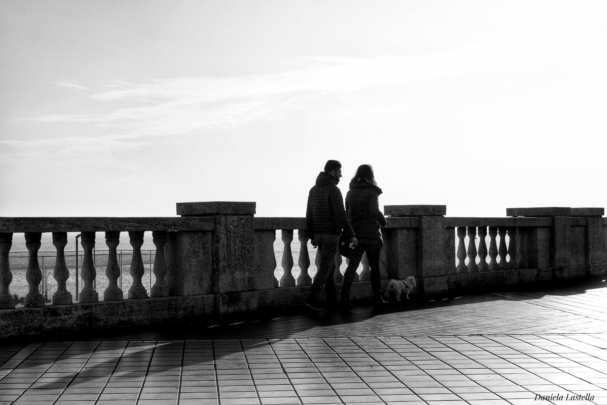 """"""" Luce sul nostro cammino """" b/n by danina65ge"""