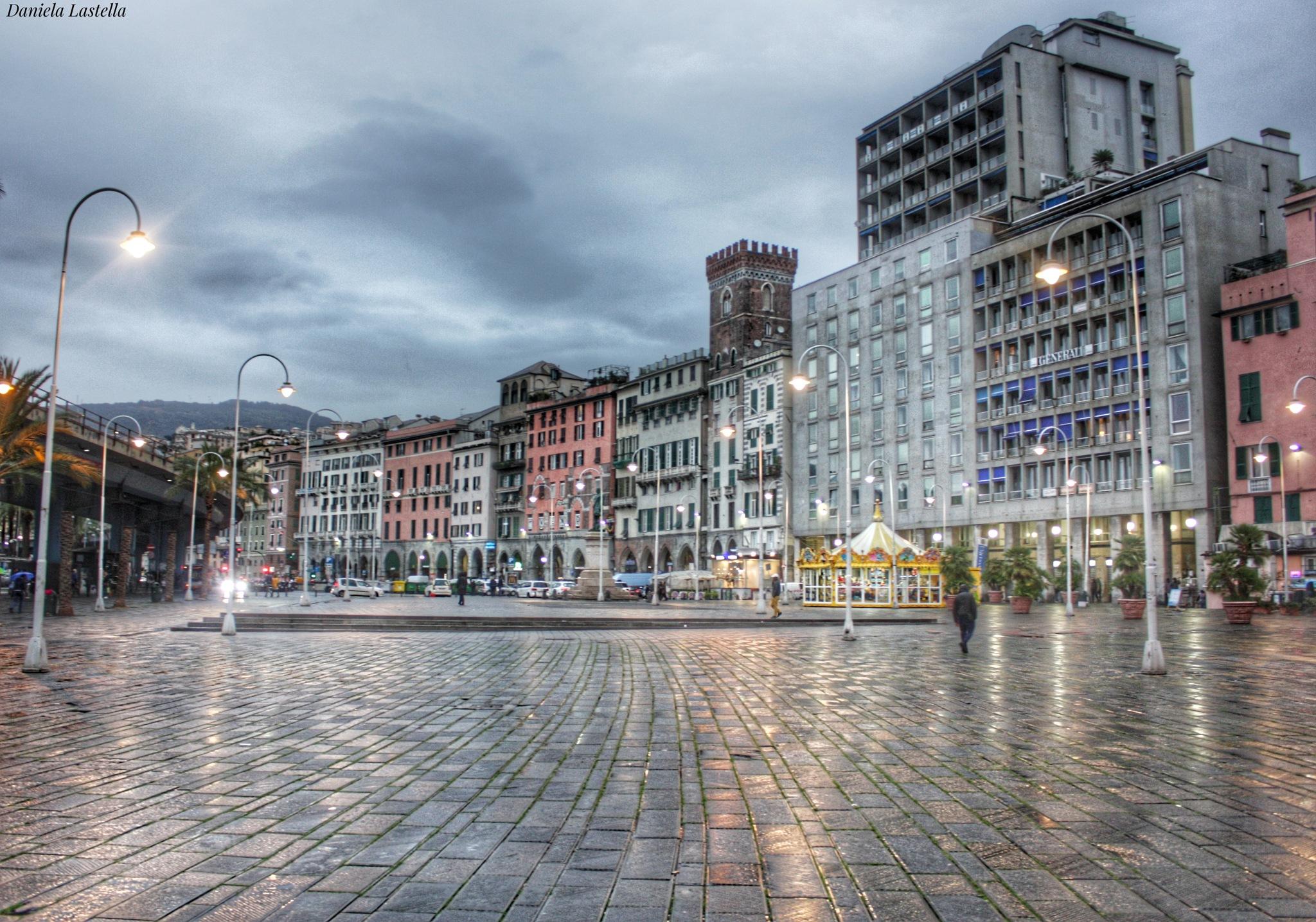 """"""" Piazza Caricamento """"  ( Genova ) by danina65ge"""