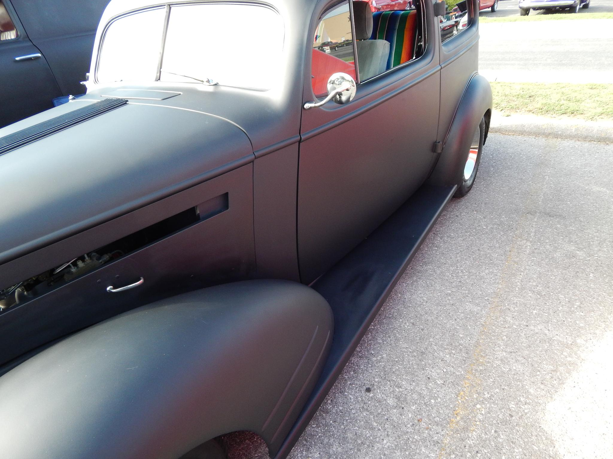 car show by cadillac.man.