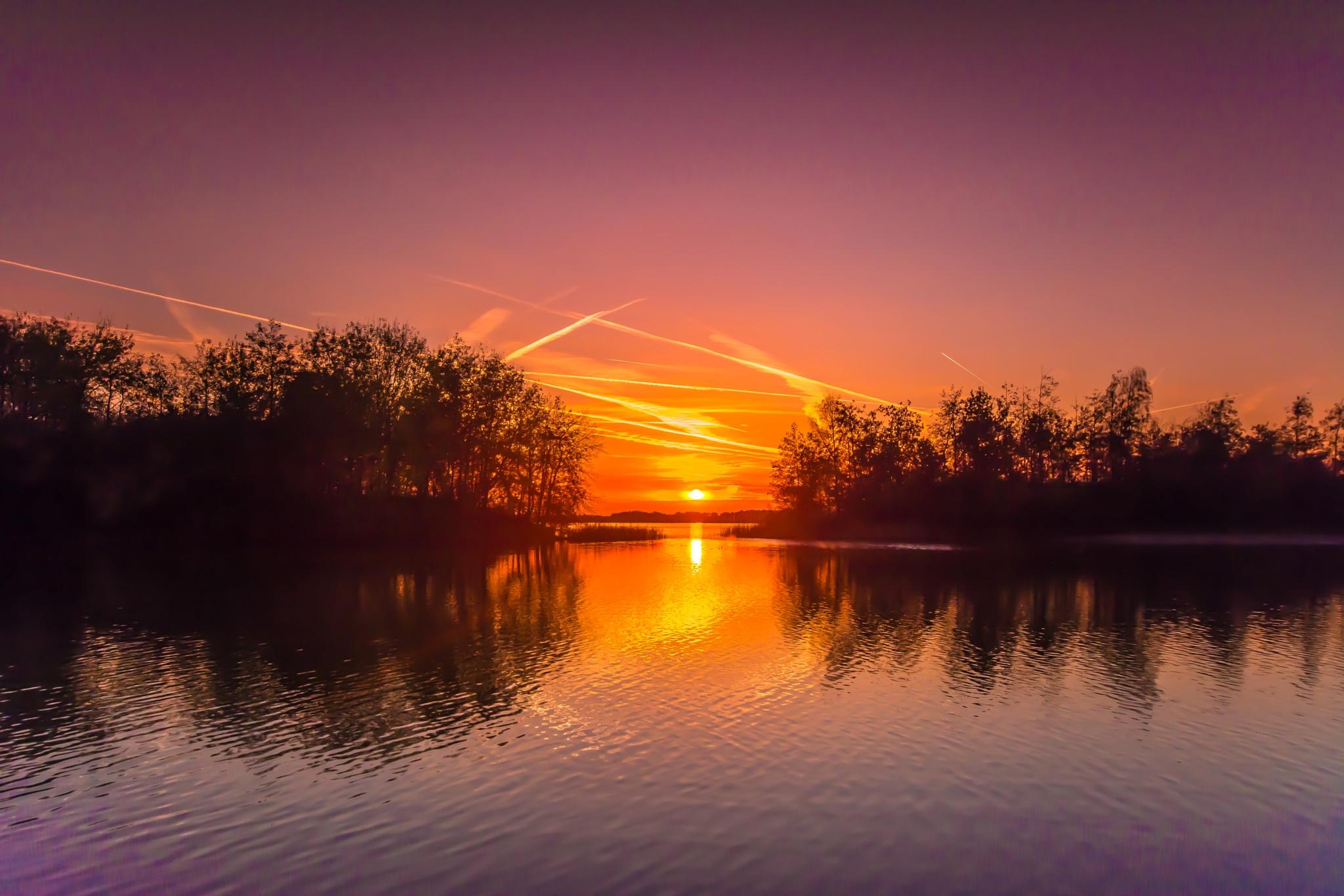 Sunset thursday november 12th by TaraKiekt.nl