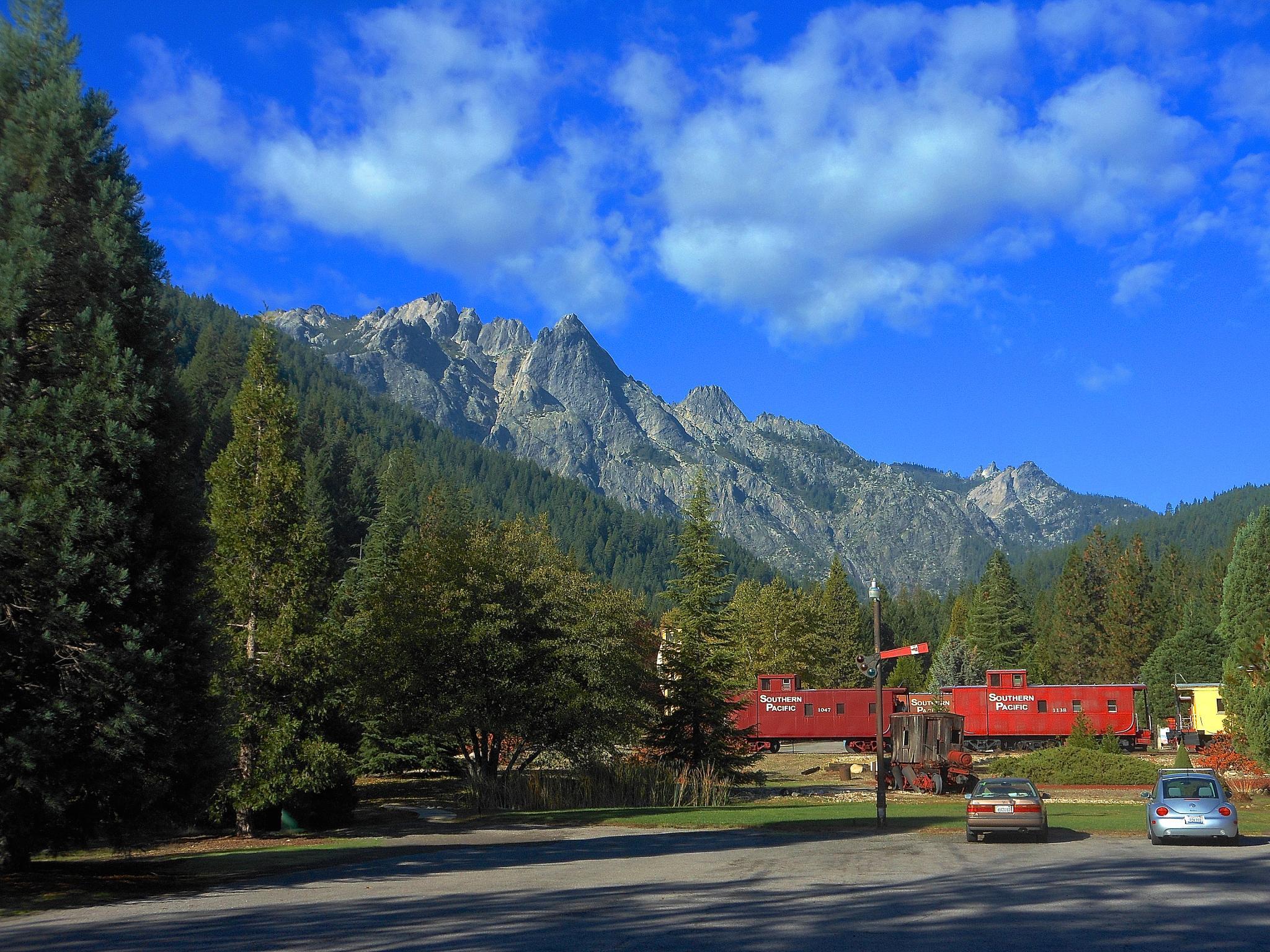 Train Park Lodging by John Norman Stewart