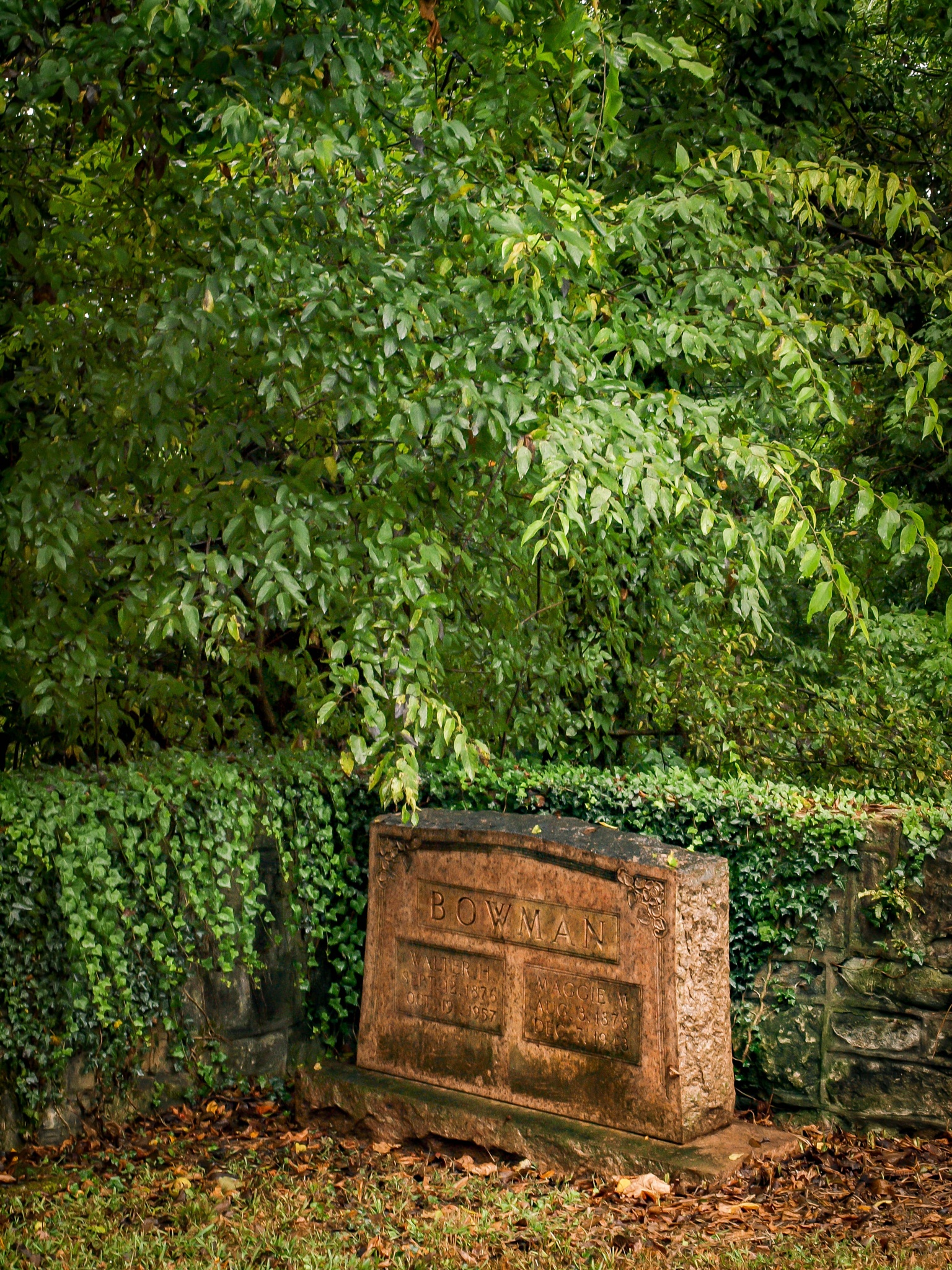 Gravestone by Catherine