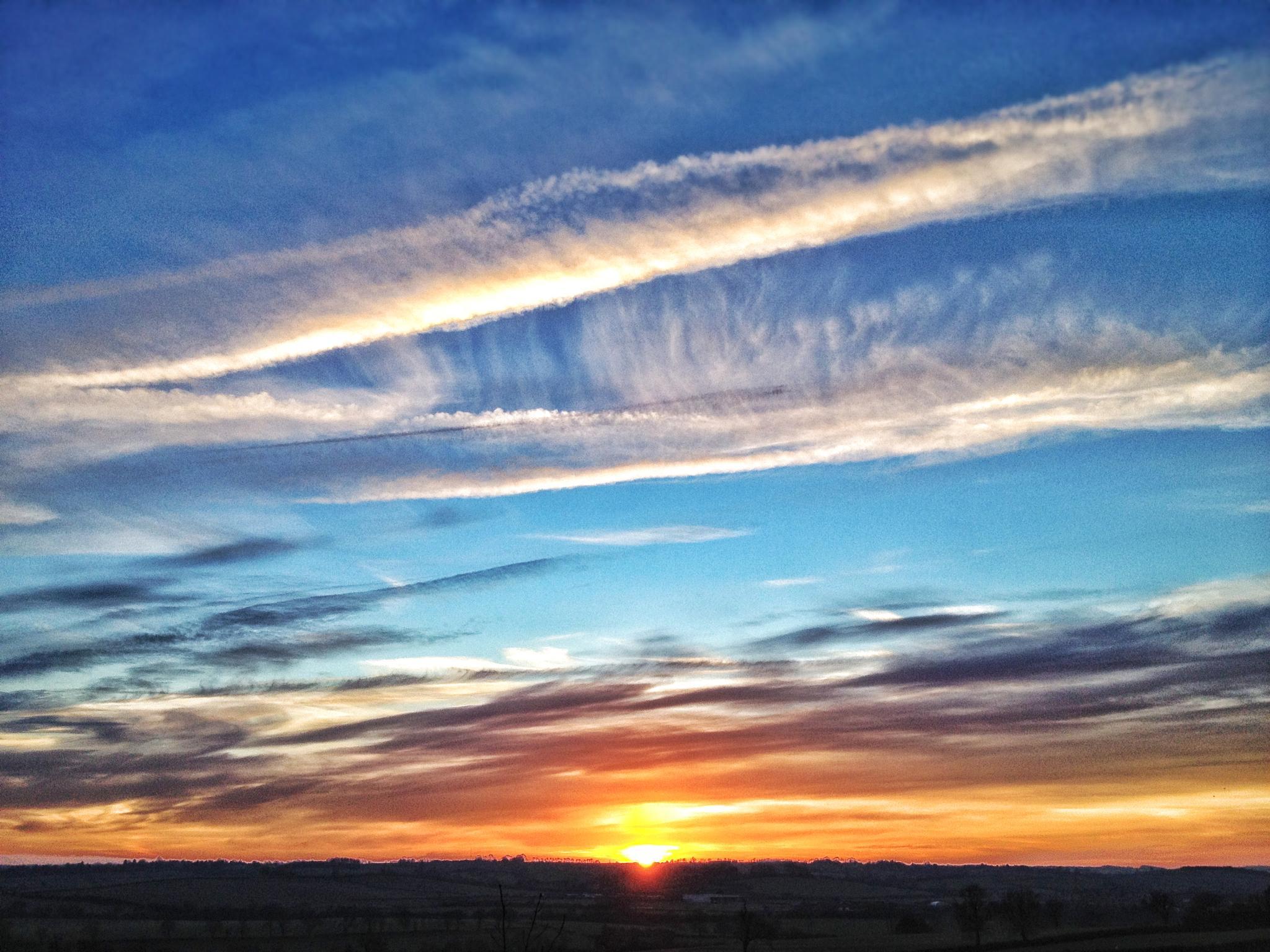 Sunset 2012 by Luke Barklamb