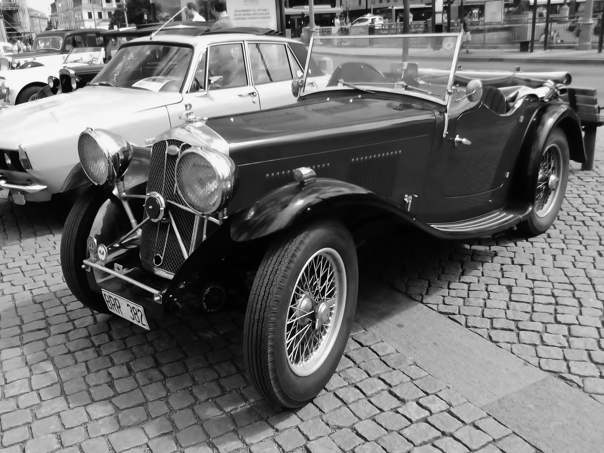 Classic MG  by rolf persson
