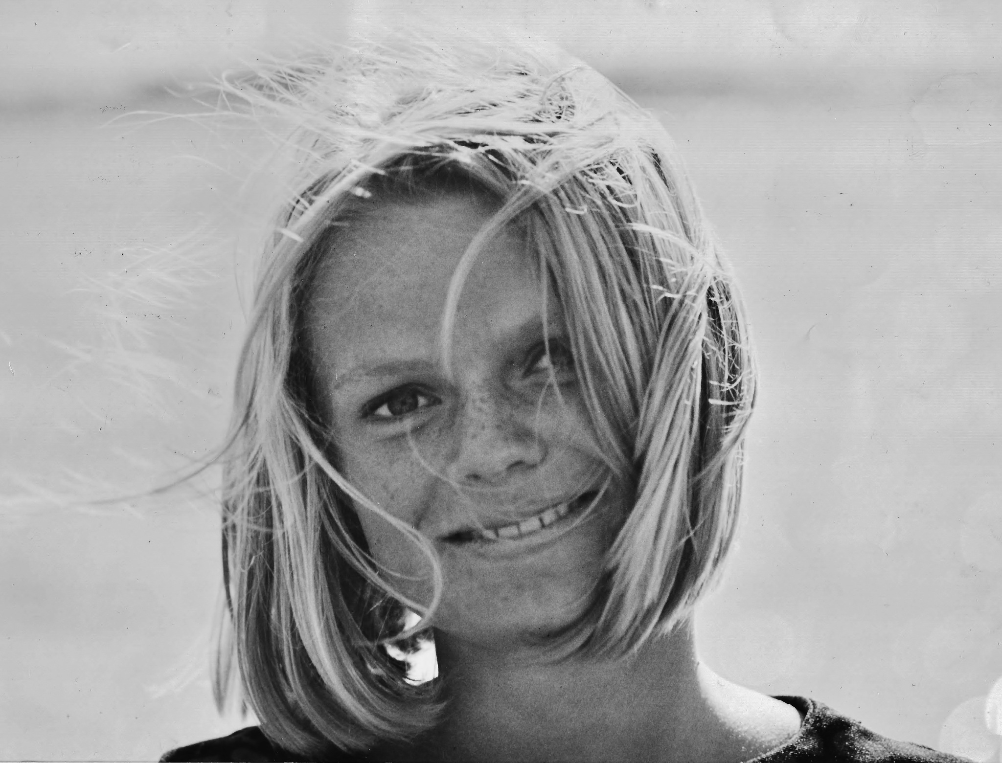 Sweet summer girl with freckles (1964) by rolf persson