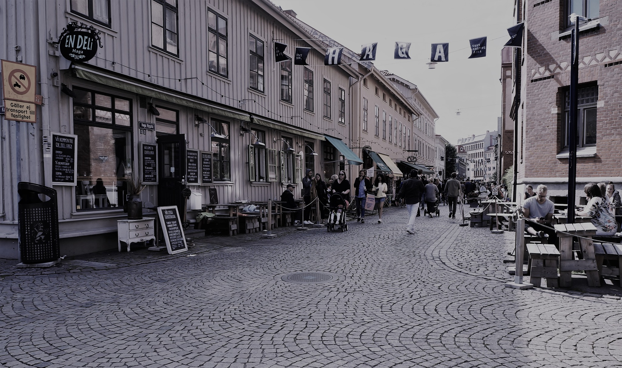 "Main street in ""Old Haga"" by rolf persson"
