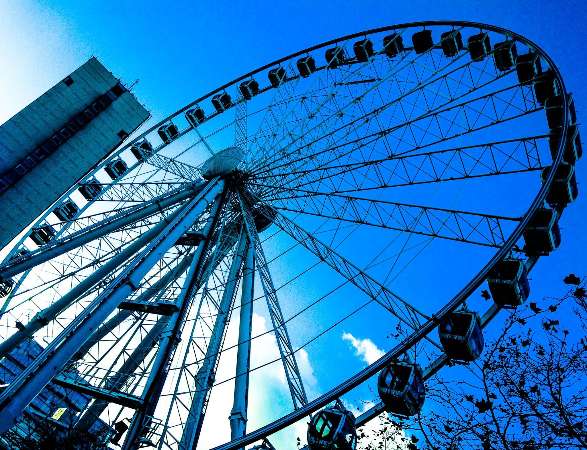 The Big Wheel by GaryMHough