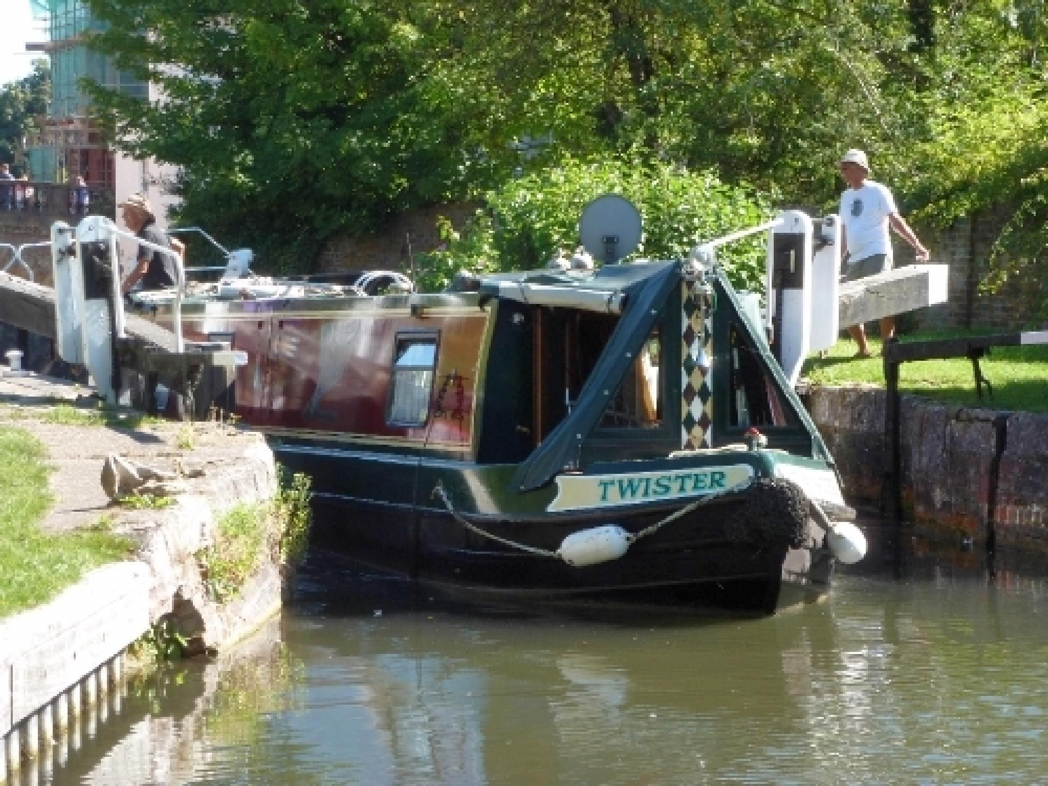 Twisting Through The Canal by GaryMHough