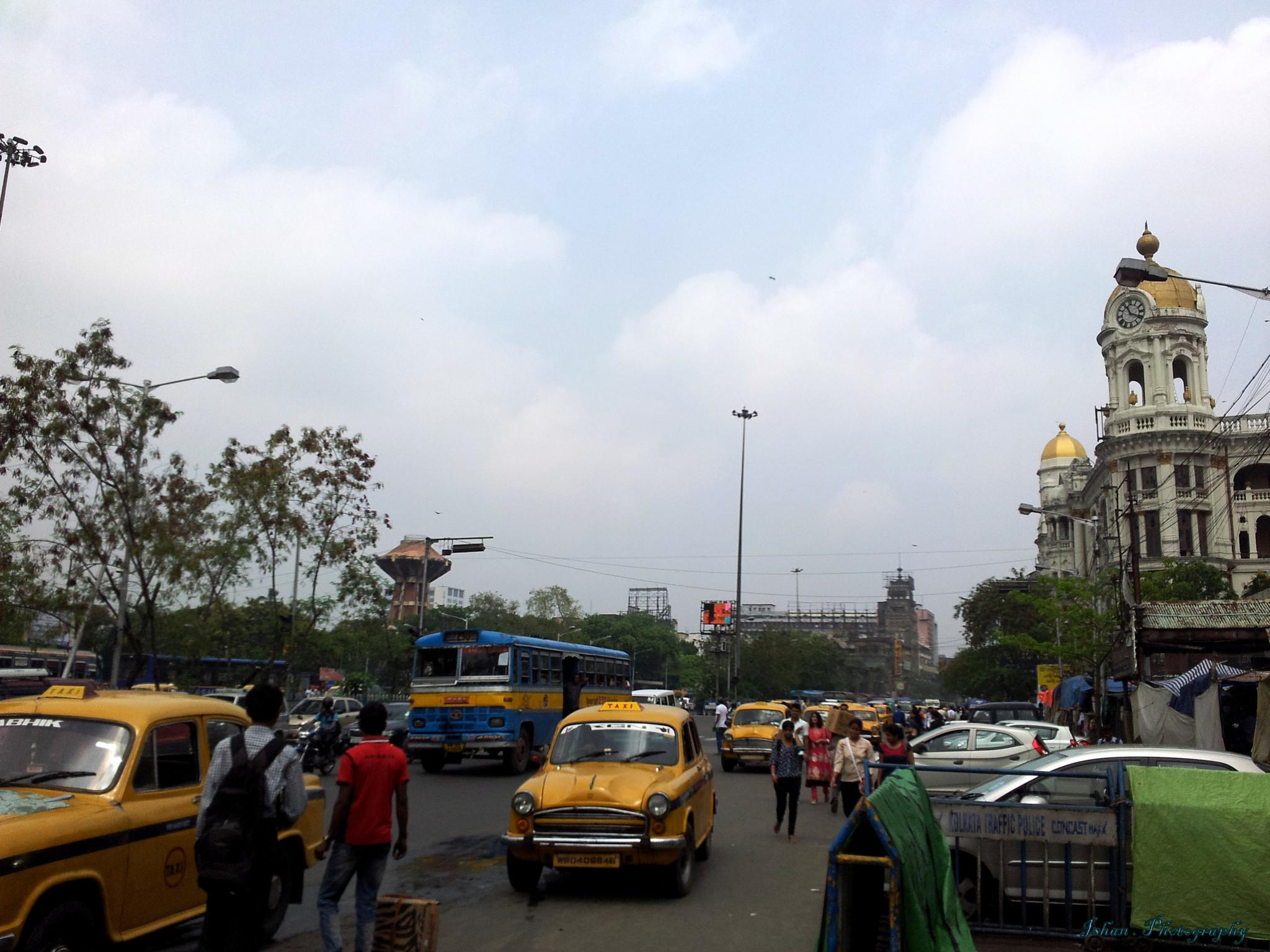 A Busiest Place by Ishan Chatterjee