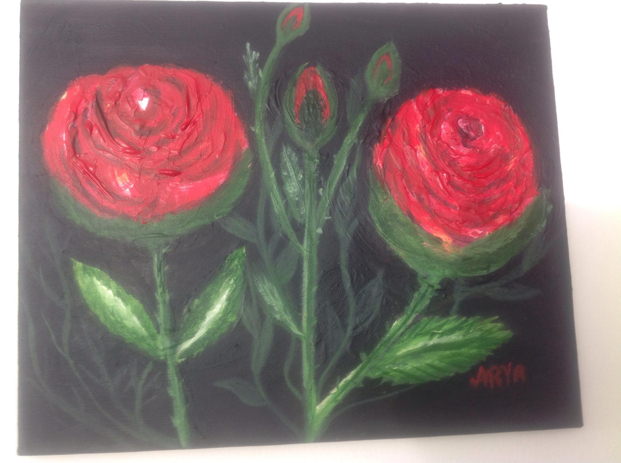 My painting acrylic on convas by Akram Monfared Arya