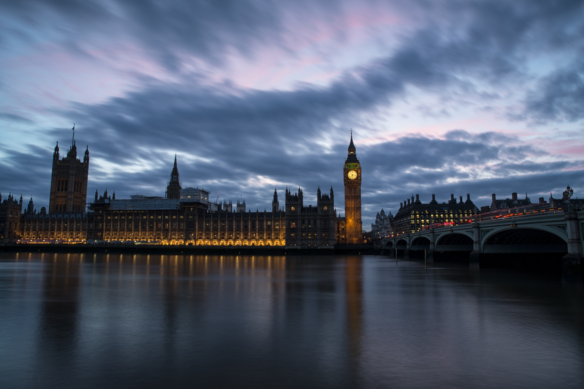 Houses of Parliament under construction by cat66chapman