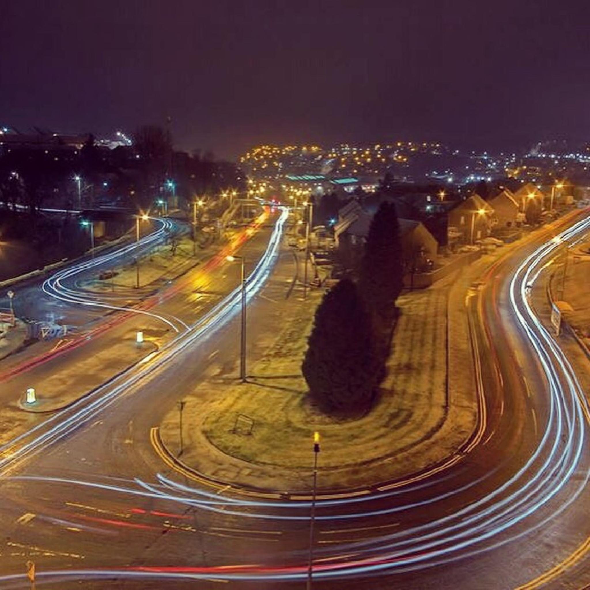 Light trails  by Barry1965