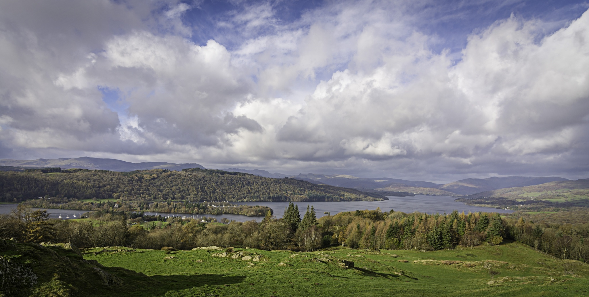 Windermere Panorama by BrianGray
