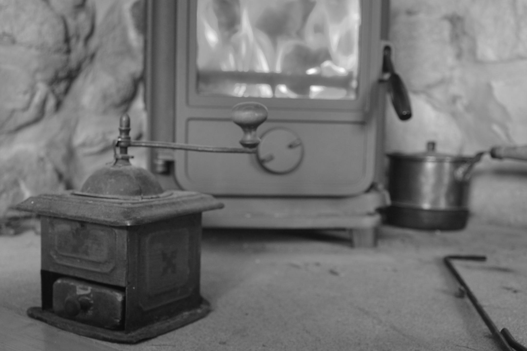 An old coffee grinder by Malin Lundgren