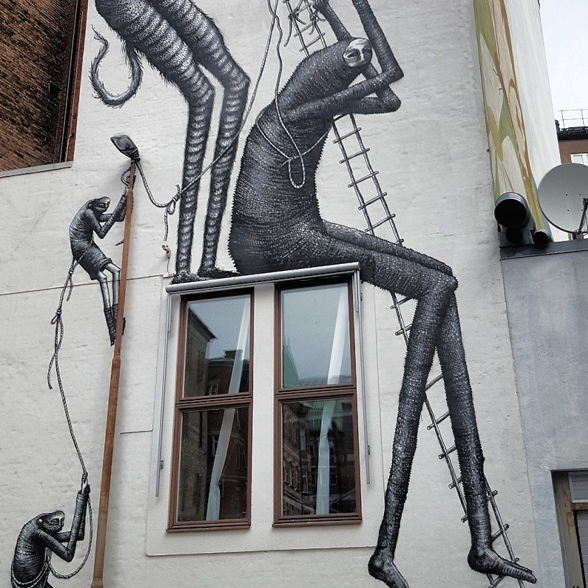 Malmoe Graffiti by goran.egevad