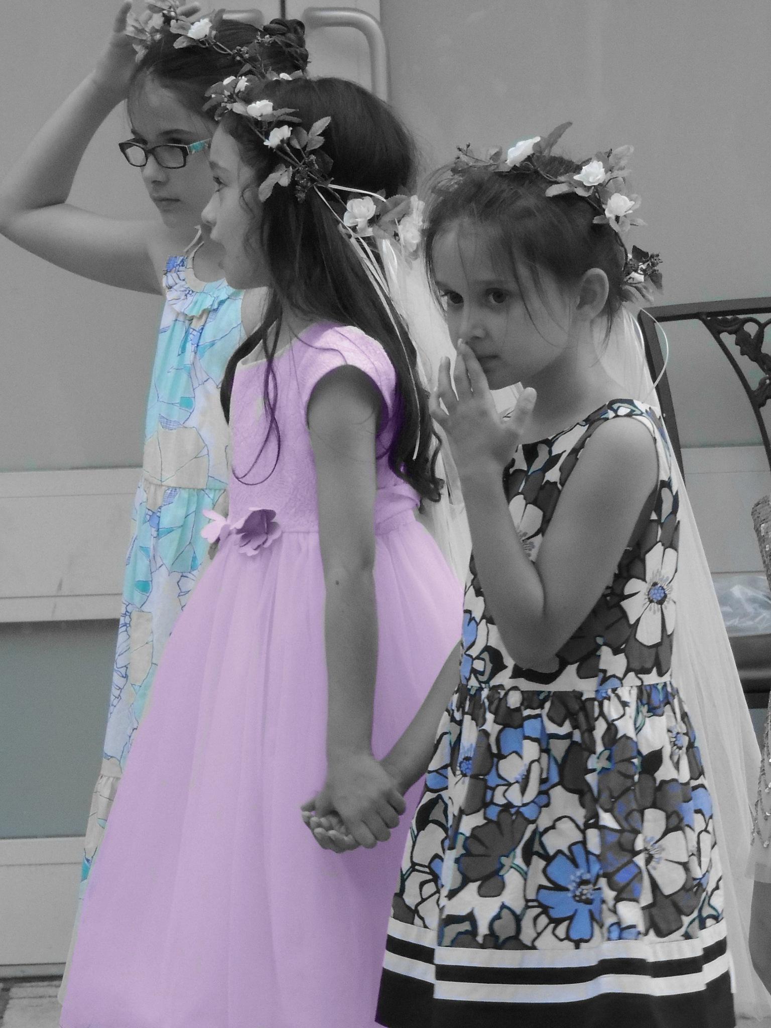 Little girls by treva.maye