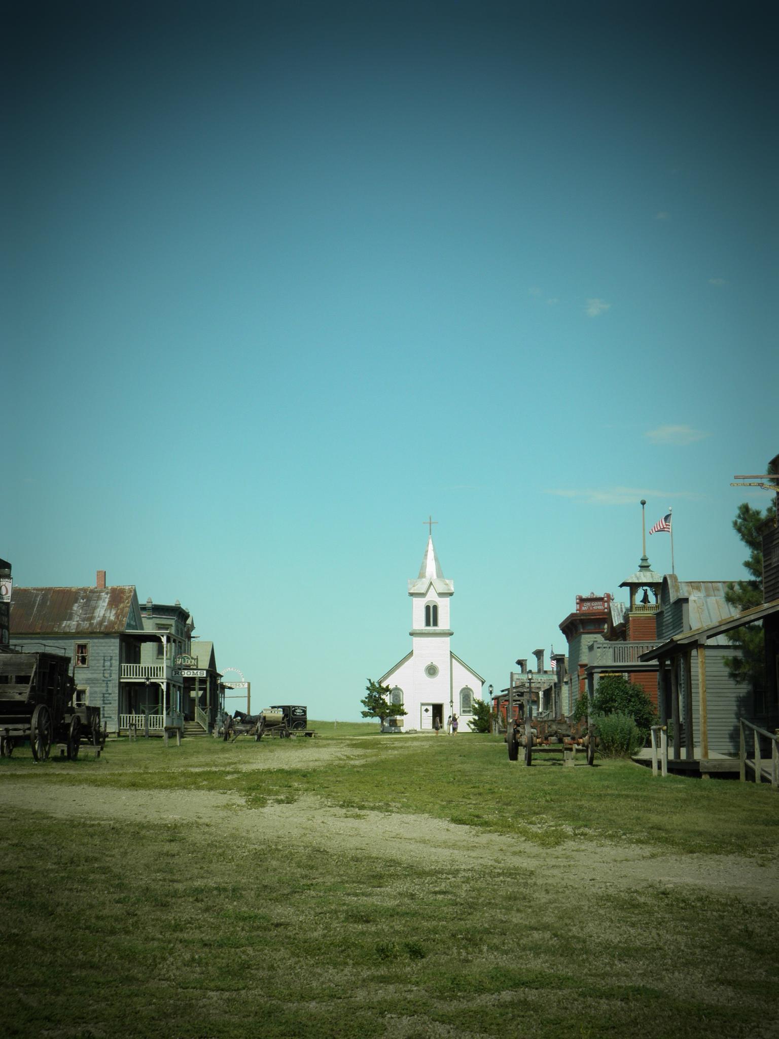 1880 town   South Dakota by Jkkline Photography