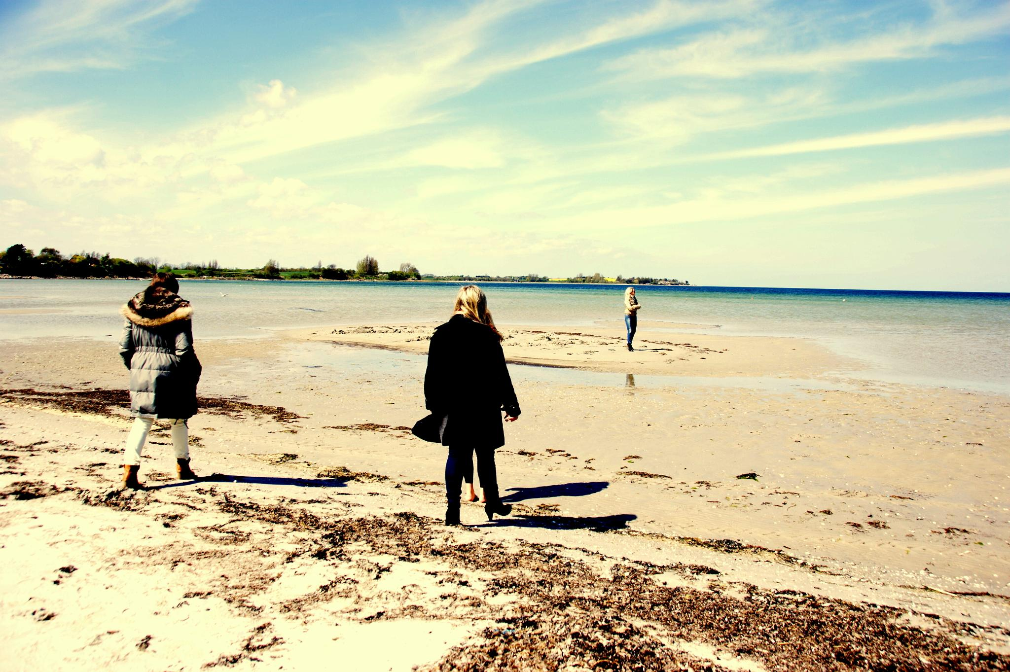 Walk at the beach by tina.nielsen.16100