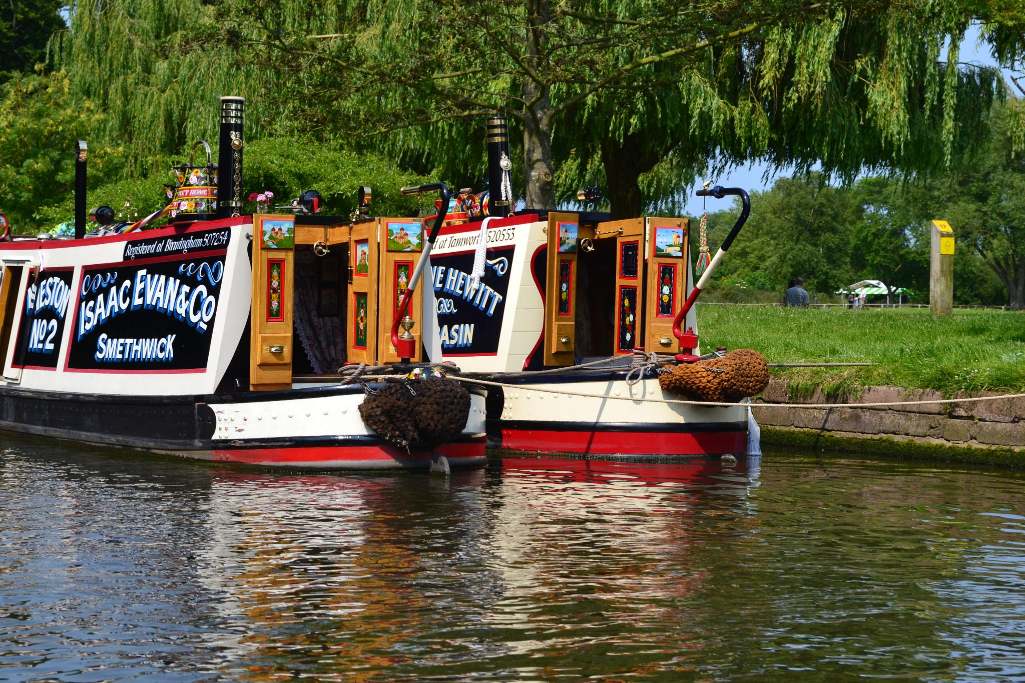 Canal Boats by stephen.spencer.737