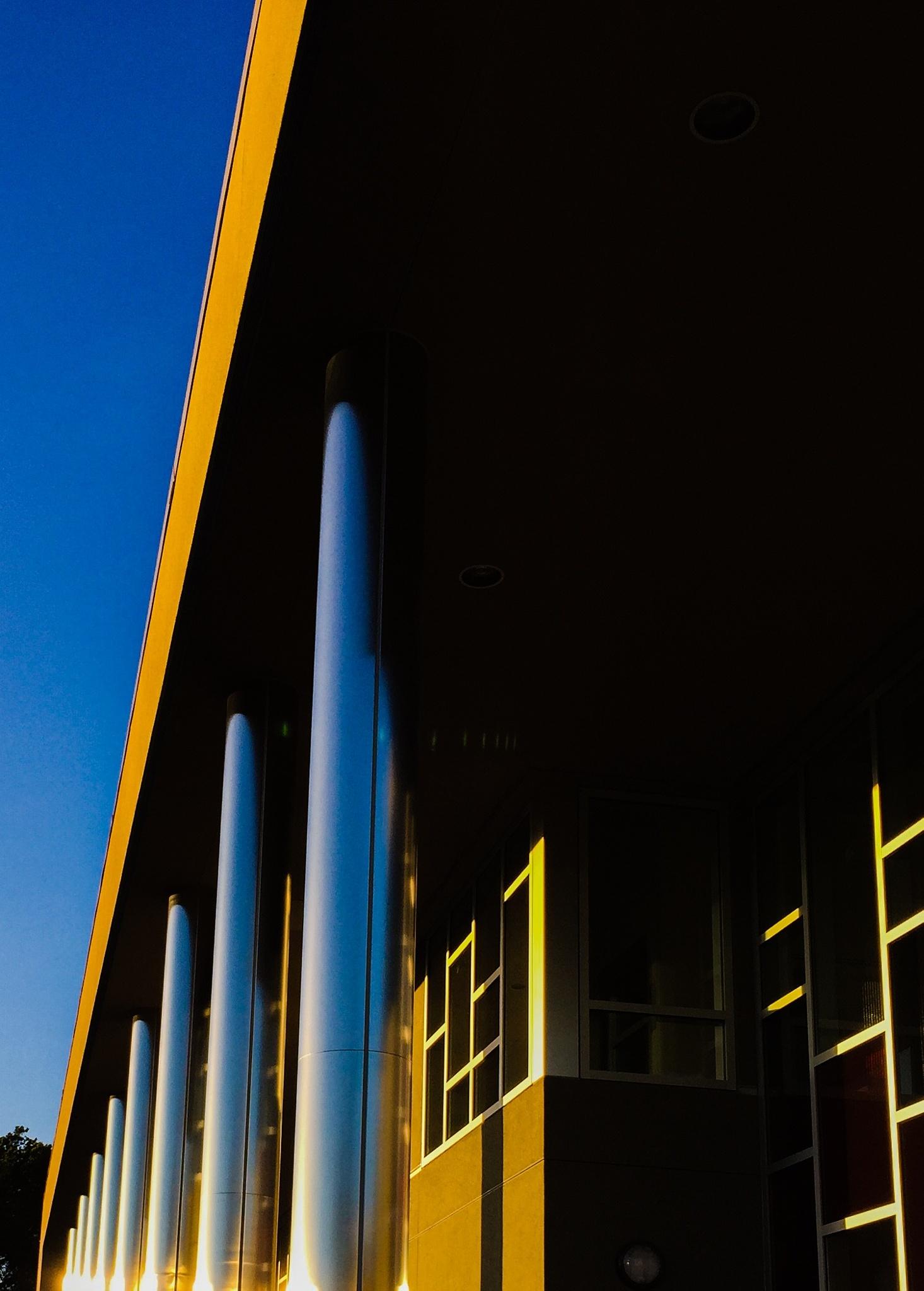 New High School Arts & Entertainment Center by kkstephenson