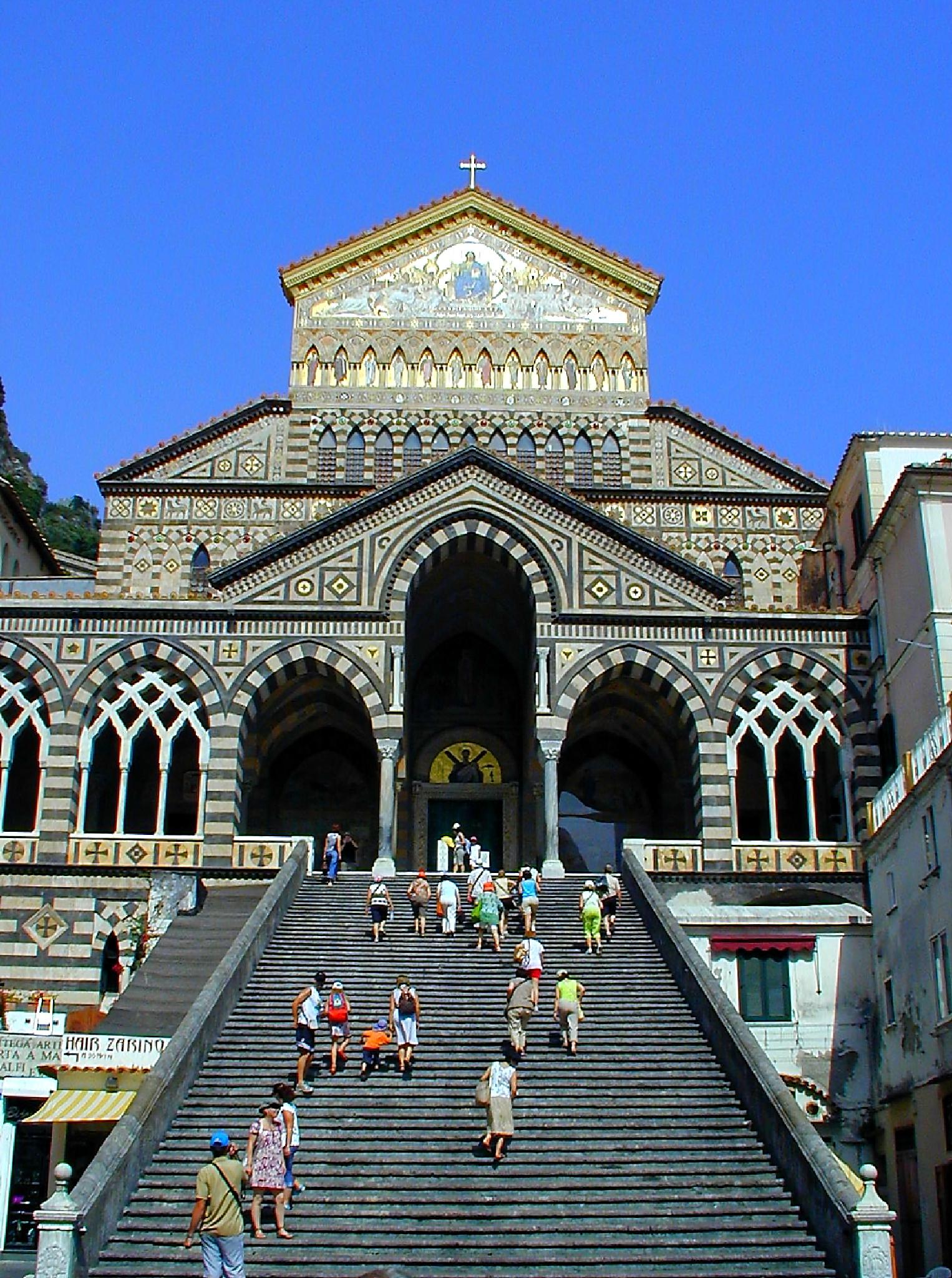 Amalfi Cathedral by Mark Ratcliffe