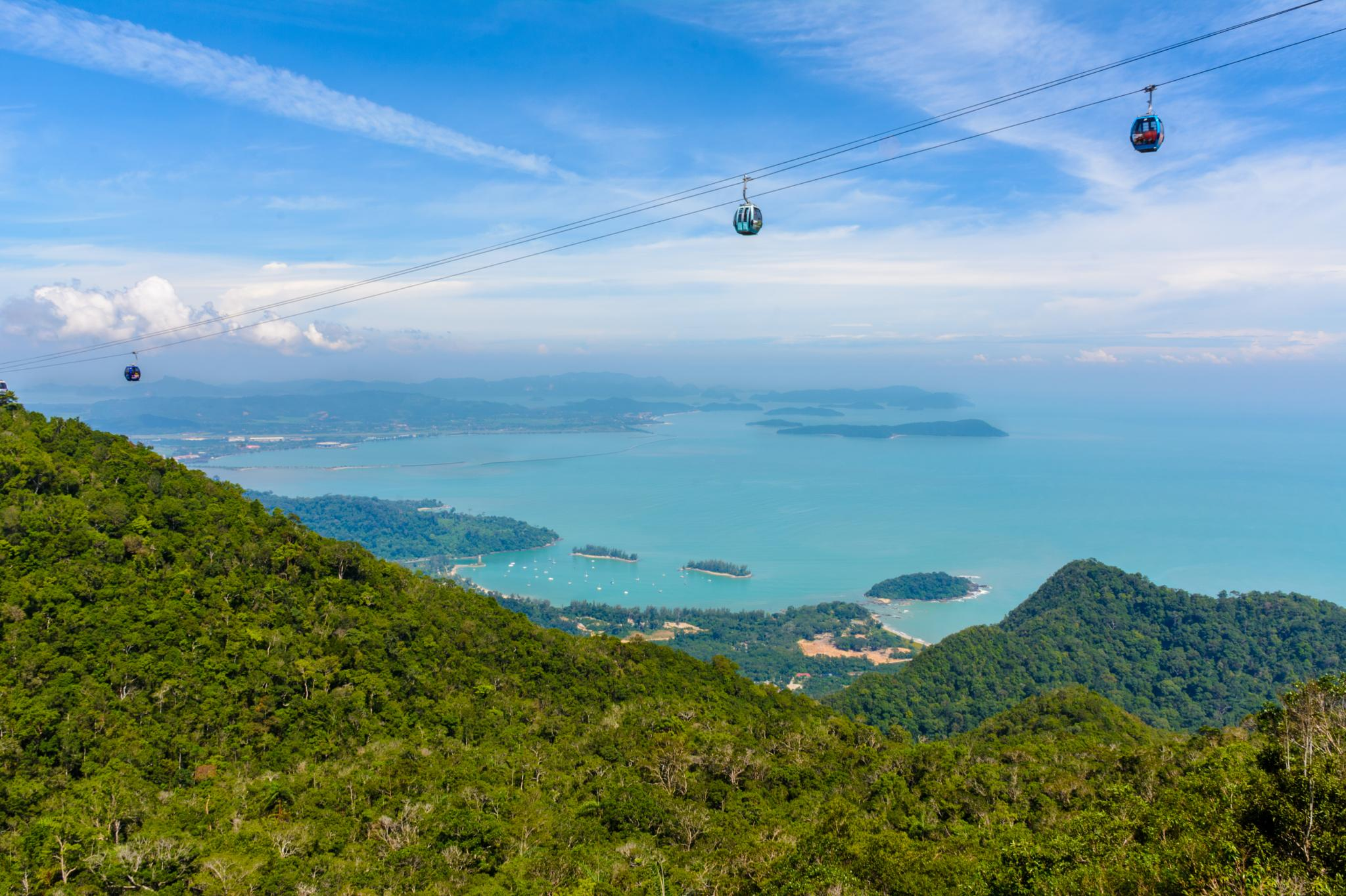 Cable car ride by Malcolm