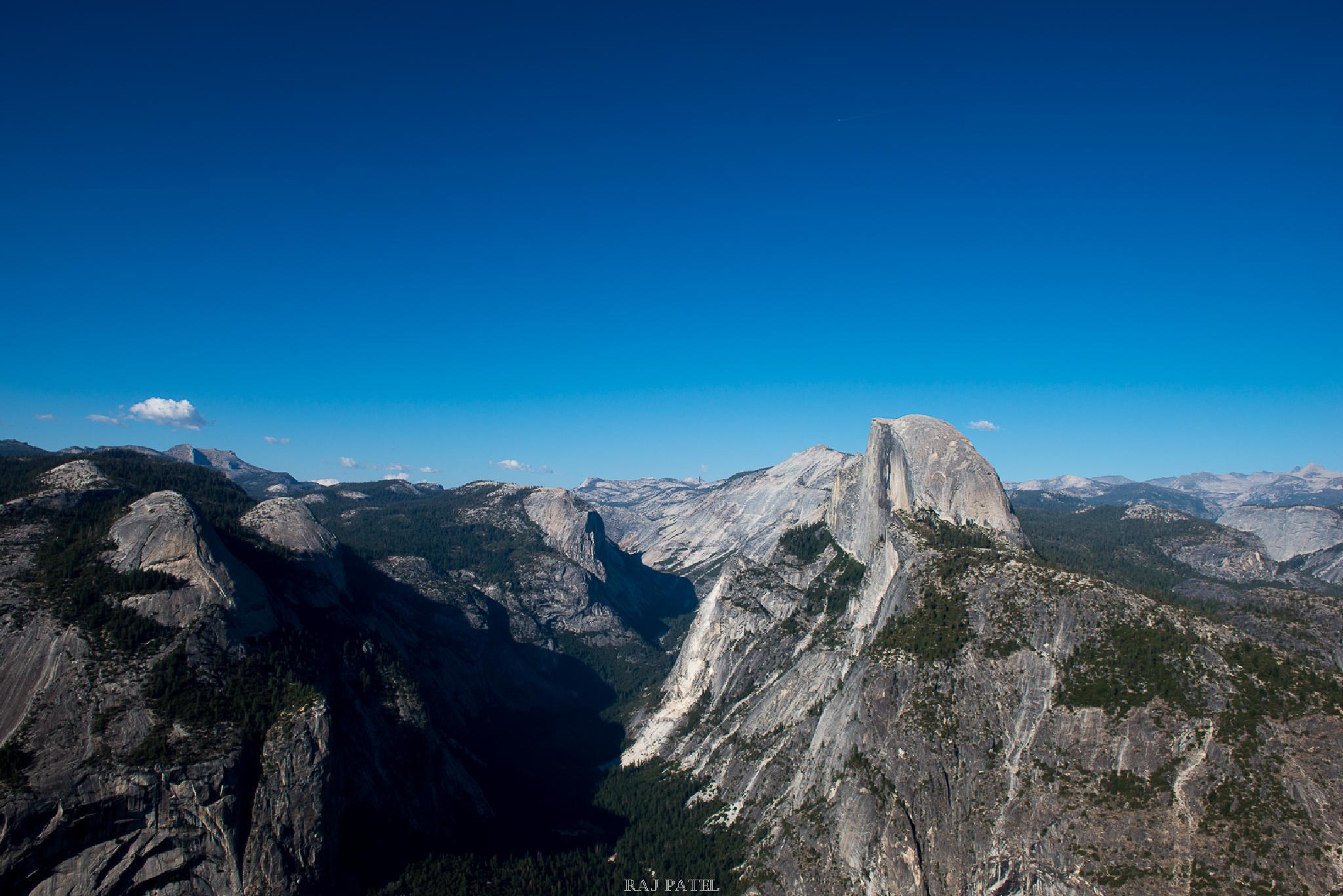 Half Dome - Yosemite by Raj Patel