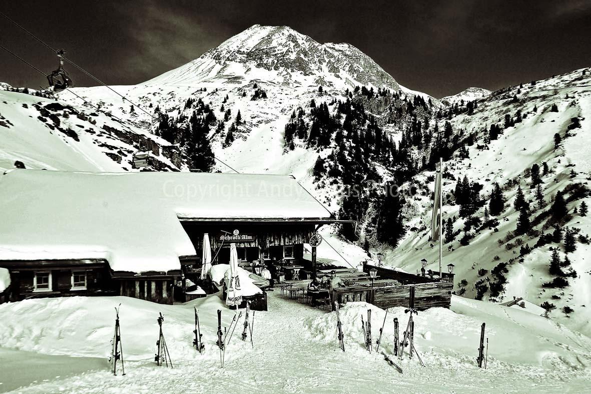 Schrofli Alm, Zurs am Arlberg, Austrian Alps, Austria by AndyEvans