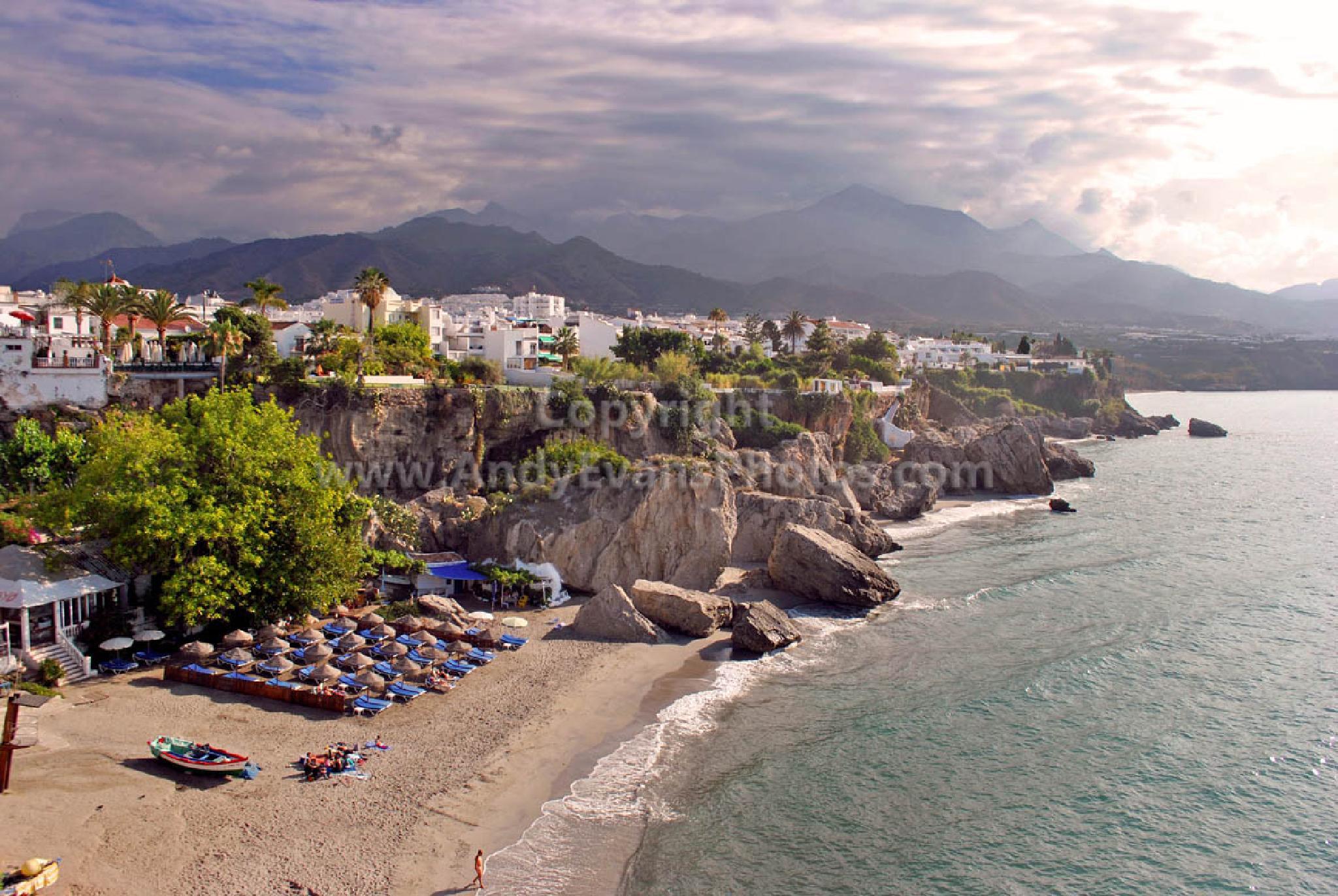 Playa Calahonda, Nerja, Andalusia, Spain by AndyEvans